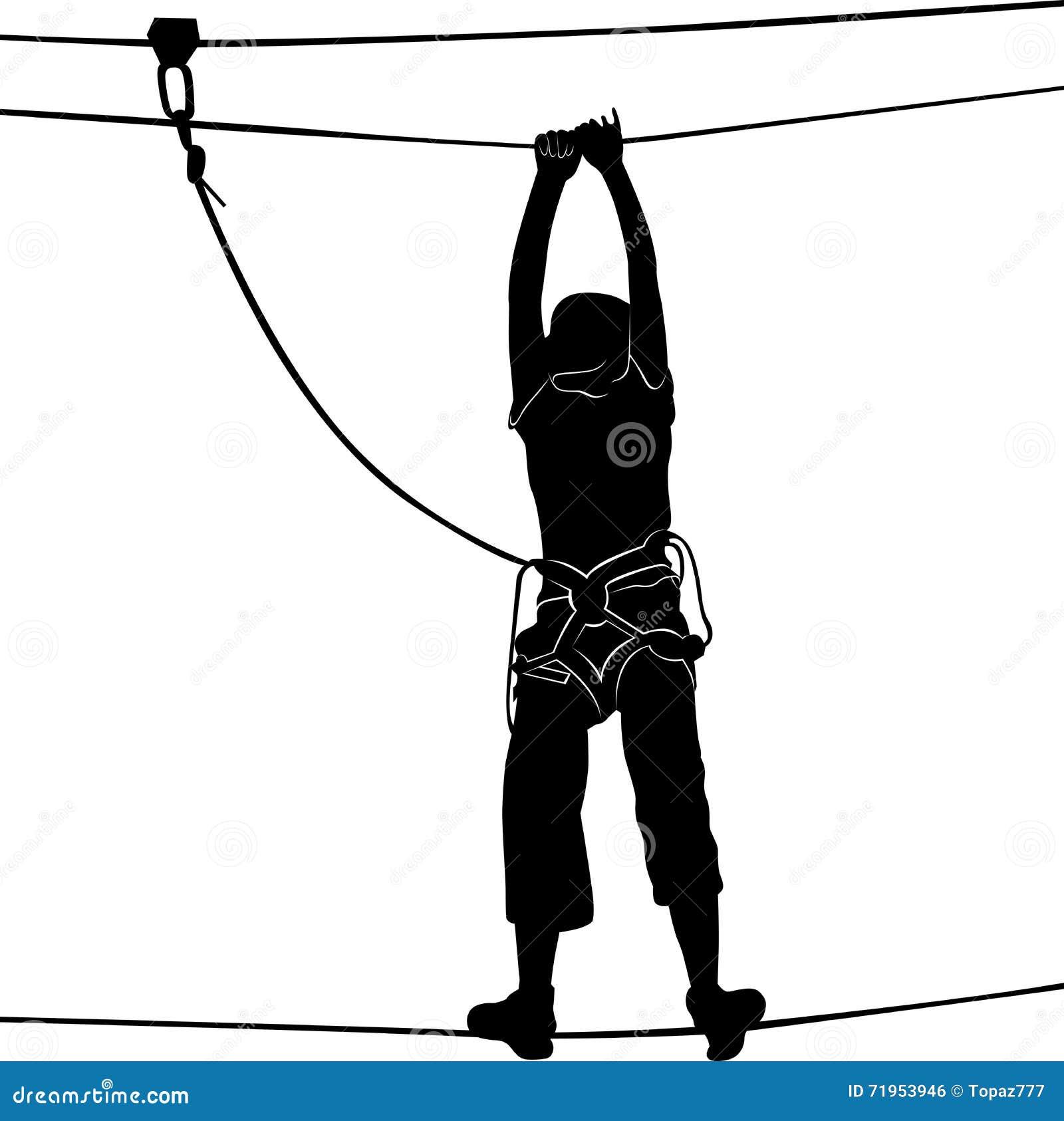 aventura cables cuerda