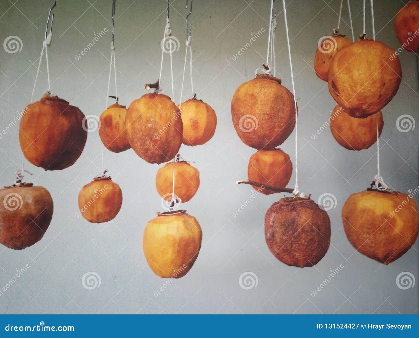 En fruit mûr sec de vide