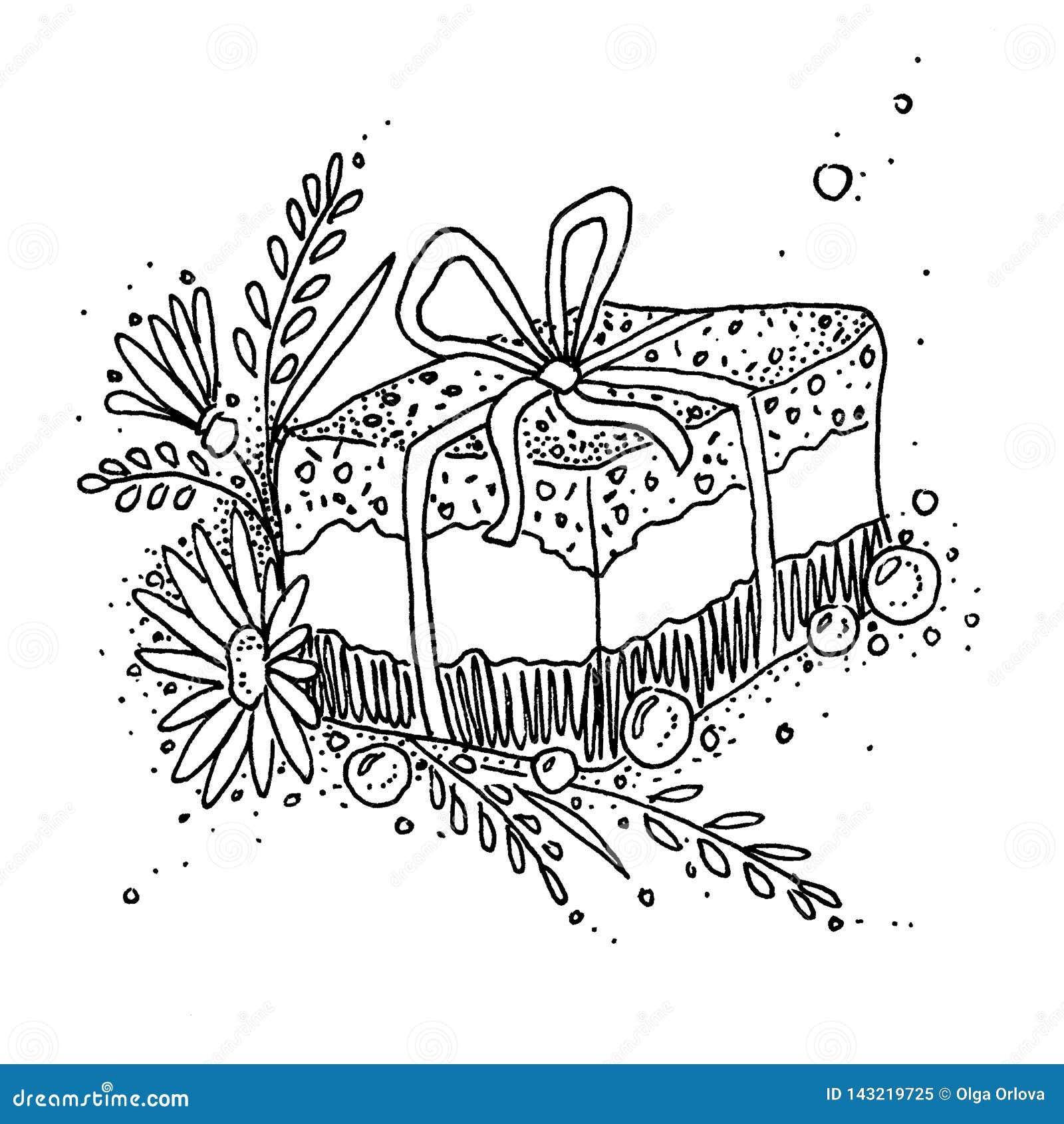 En gåva med naturliga anstrykningar Örter torkade blommor, blommor, växter
