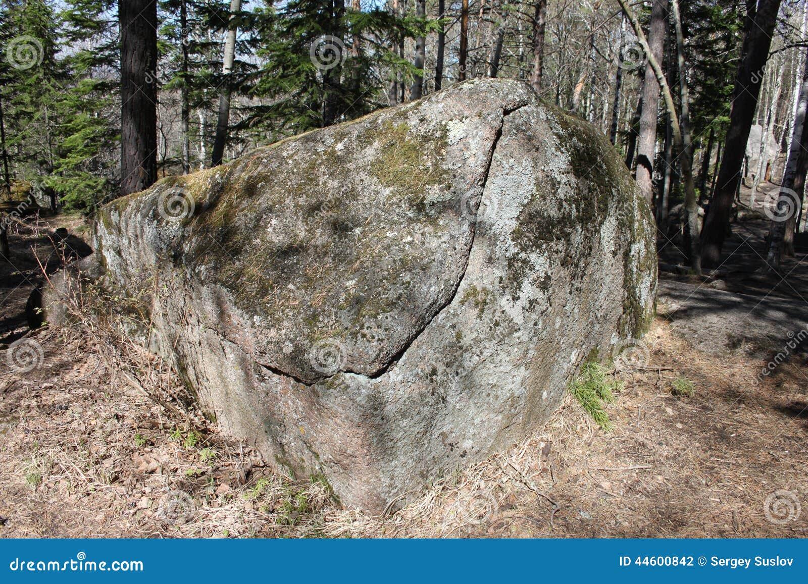 spricka i sten