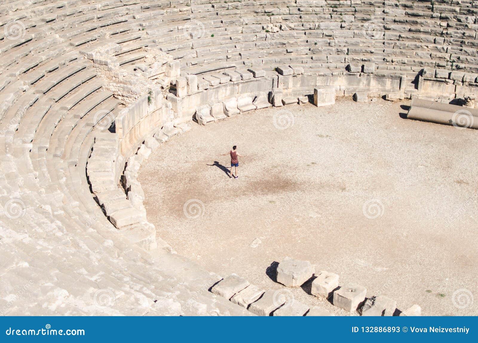 En i arenan