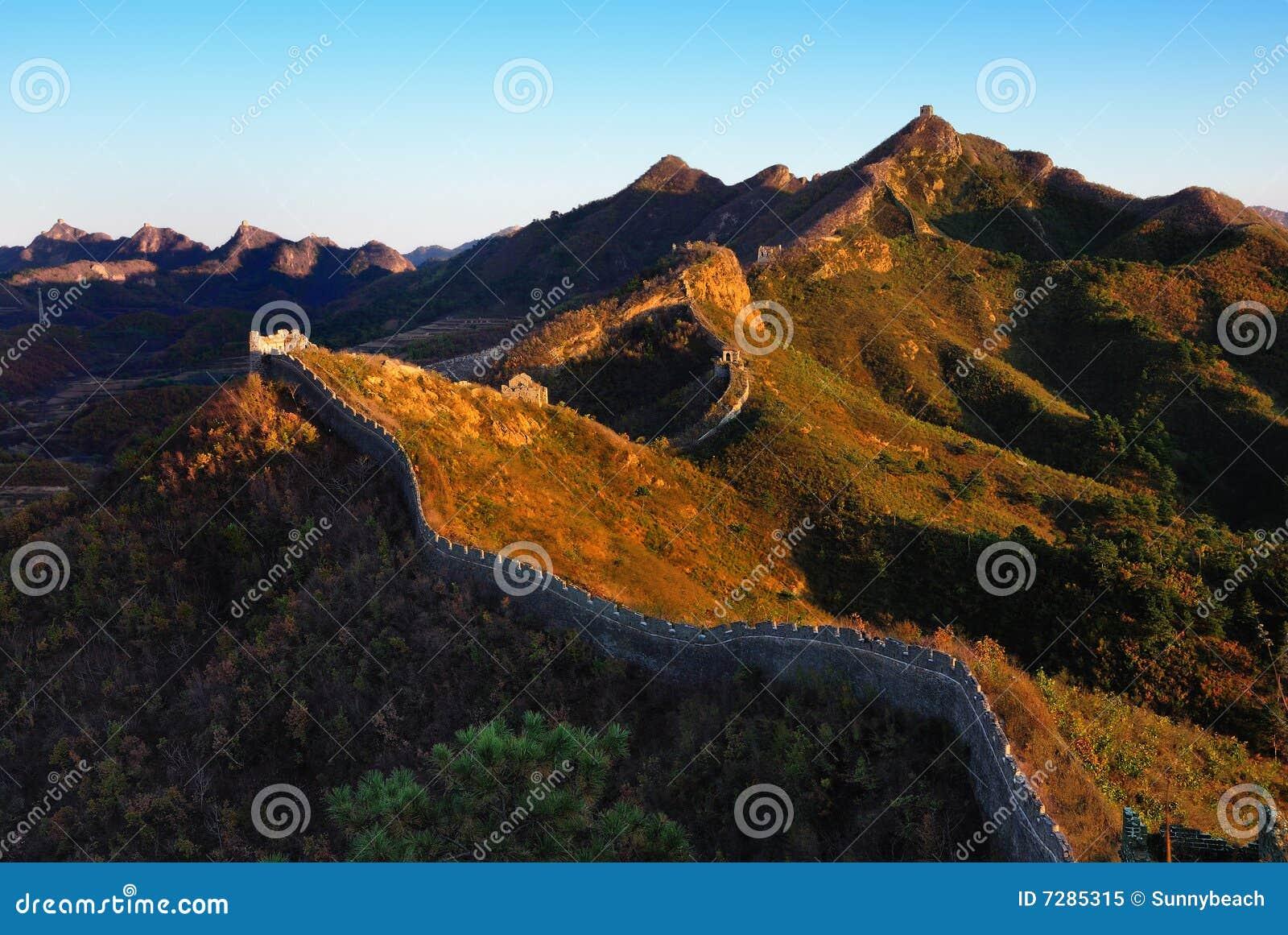 En la caída de la Gran Muralla