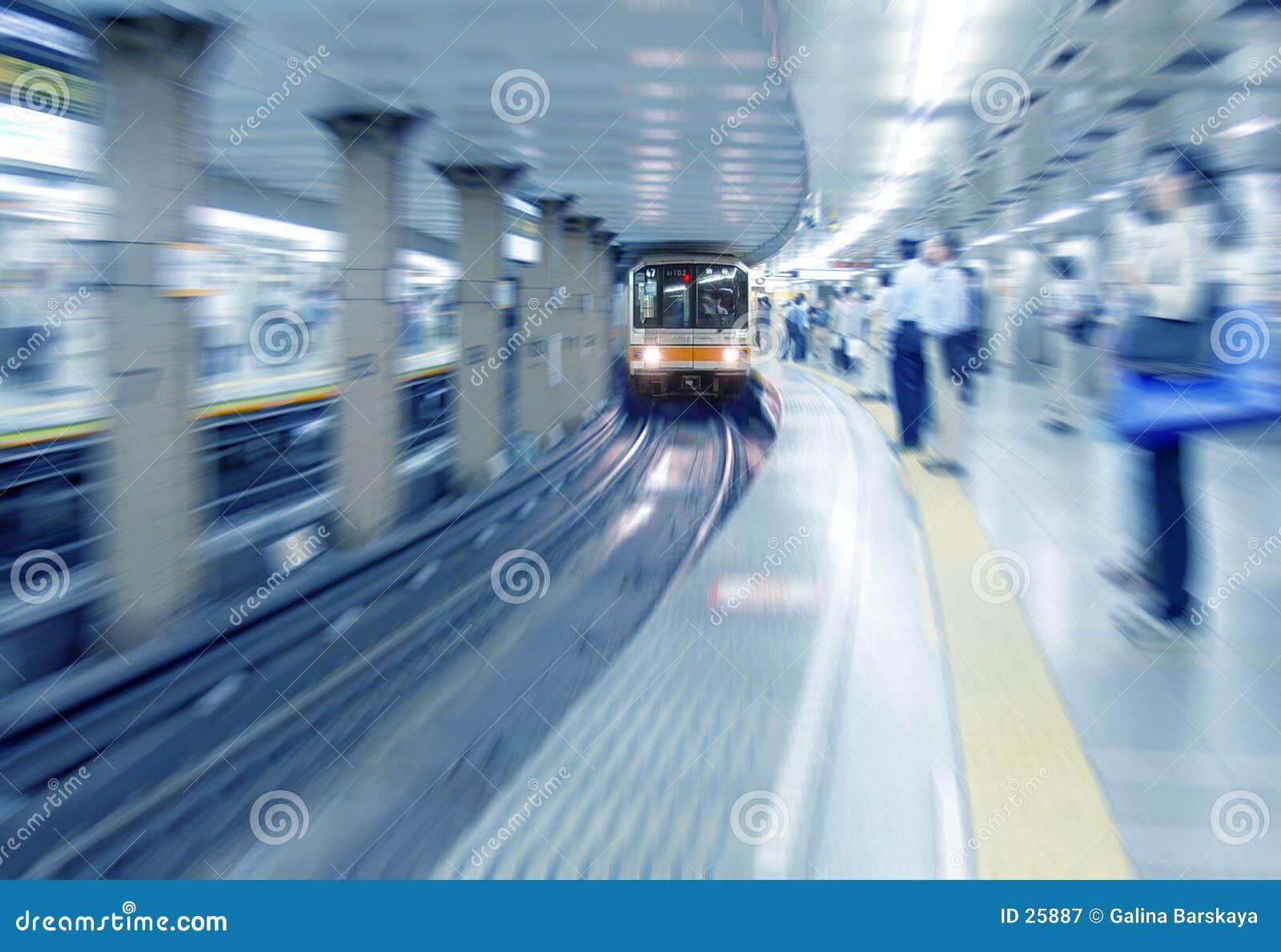 Download En la estación de tren imagen de archivo. Imagen de transporte - 25887