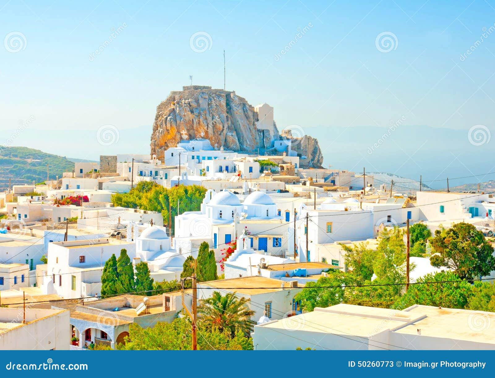 En la isla de amorgos en grecia foto de archivo imagen for Oficina de turismo de grecia