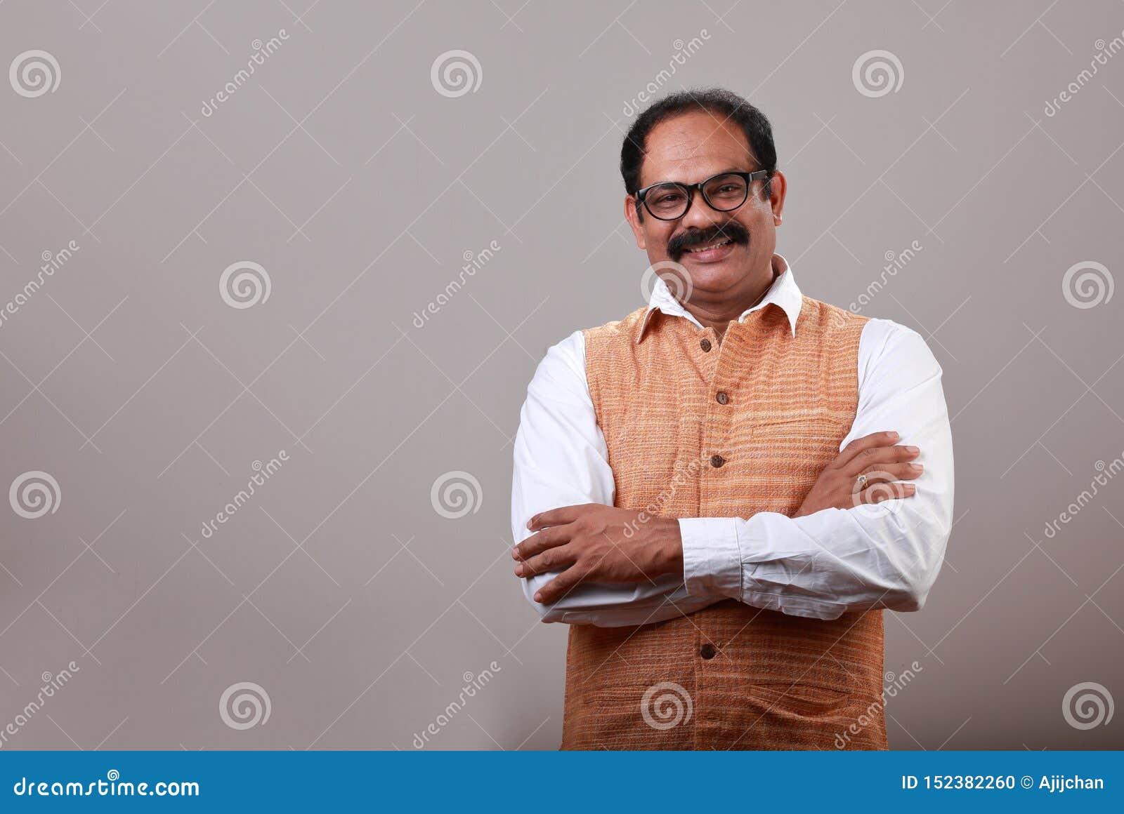En le indisk man