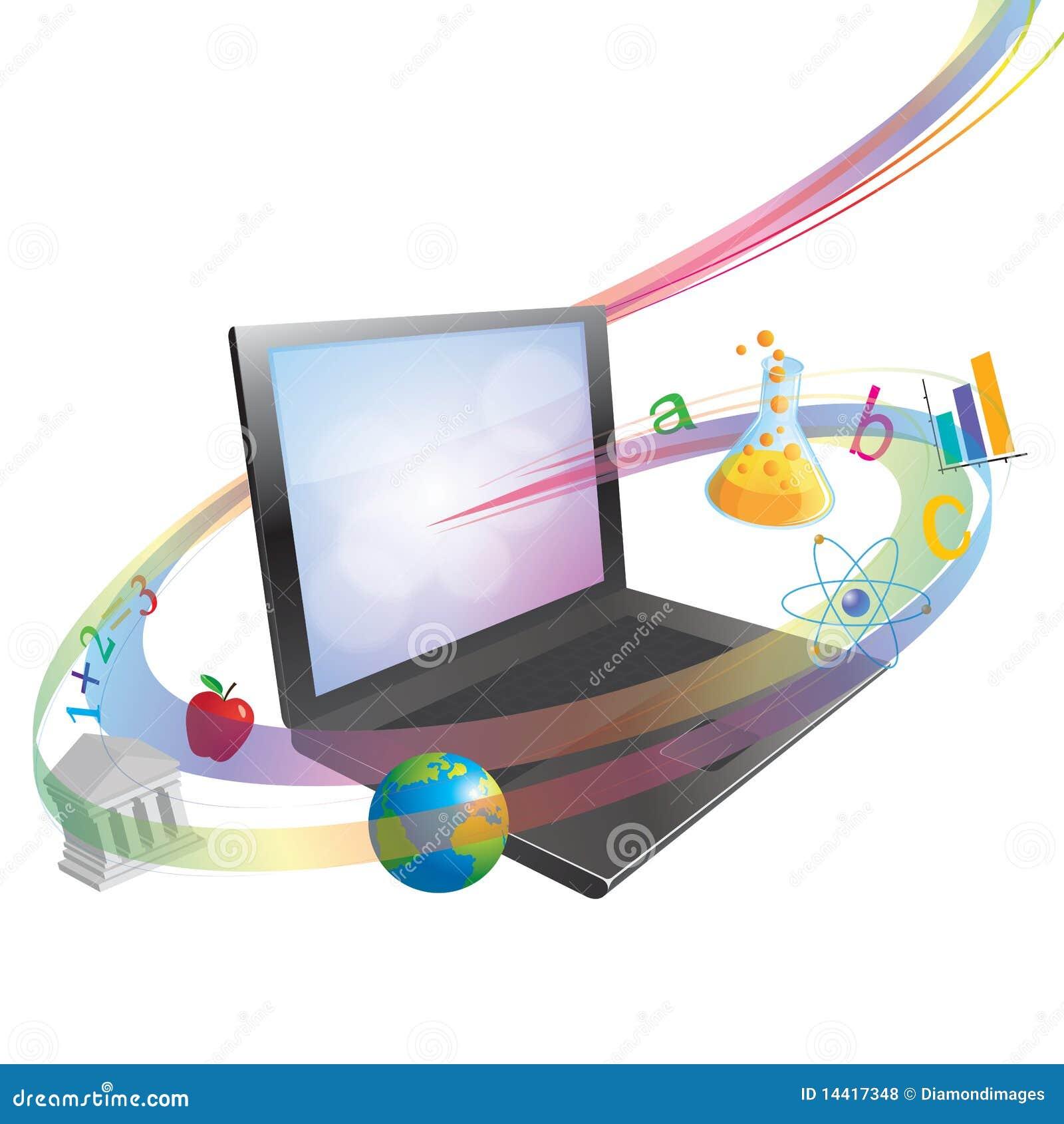En ligne apprenant ou instruisant le concept