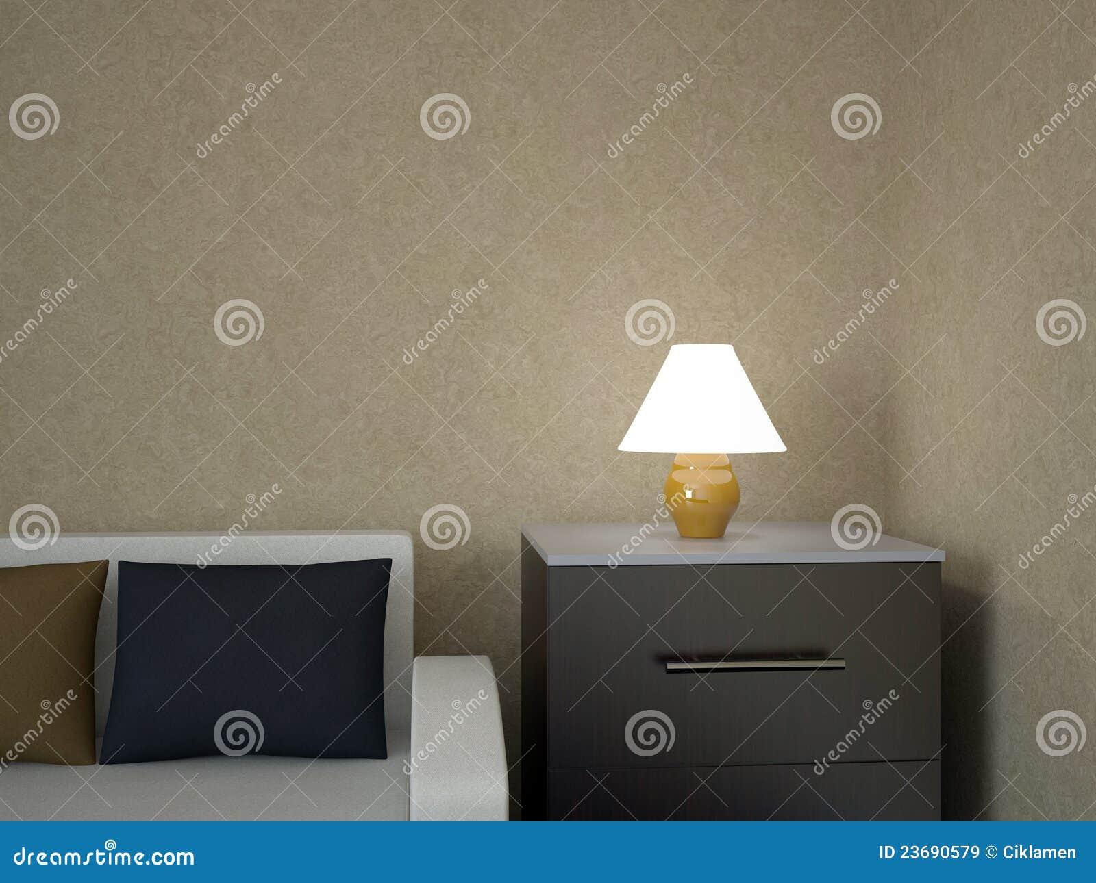 En liten lampa