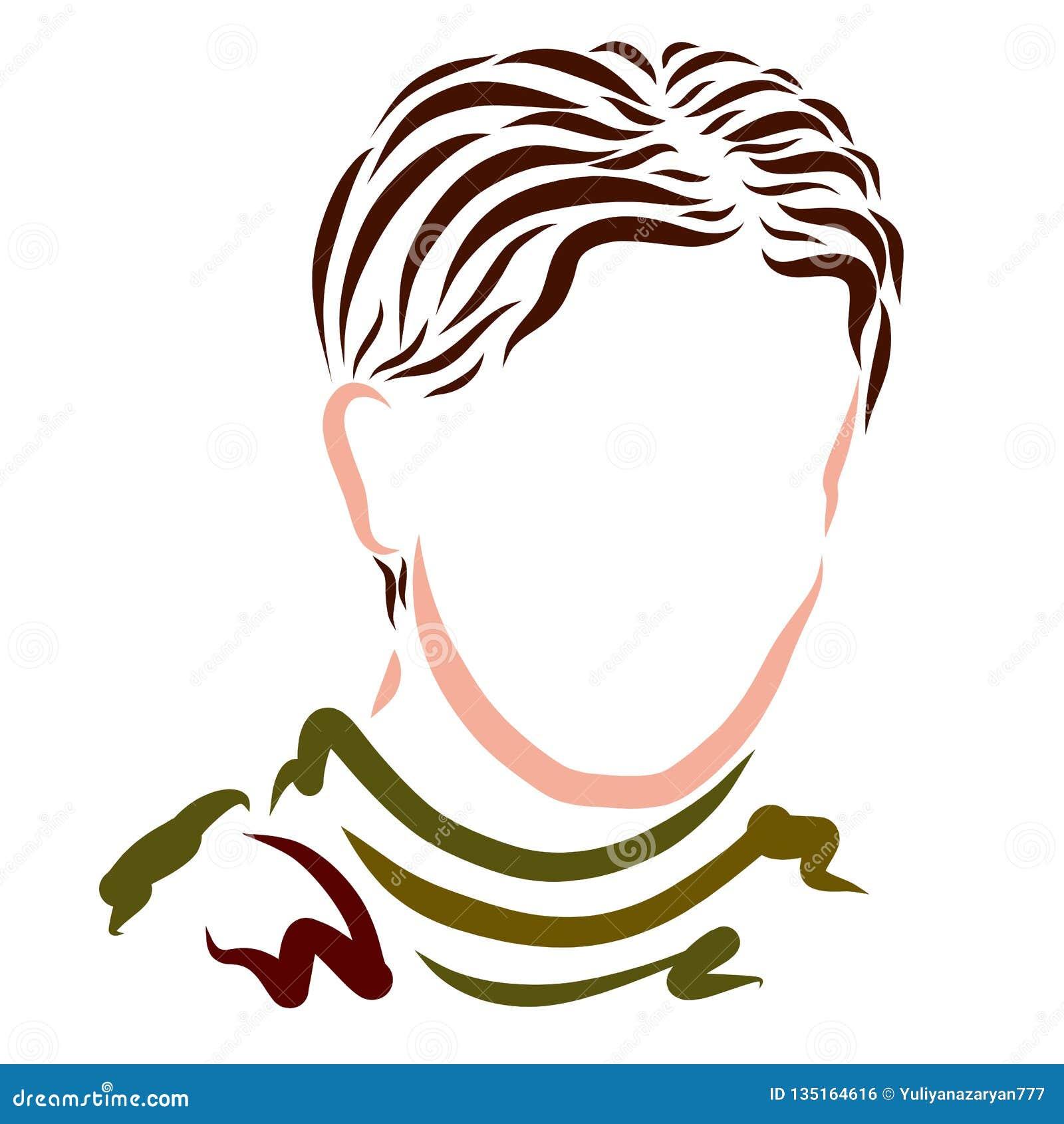 En man i en tröja och med en klassisk frisyr