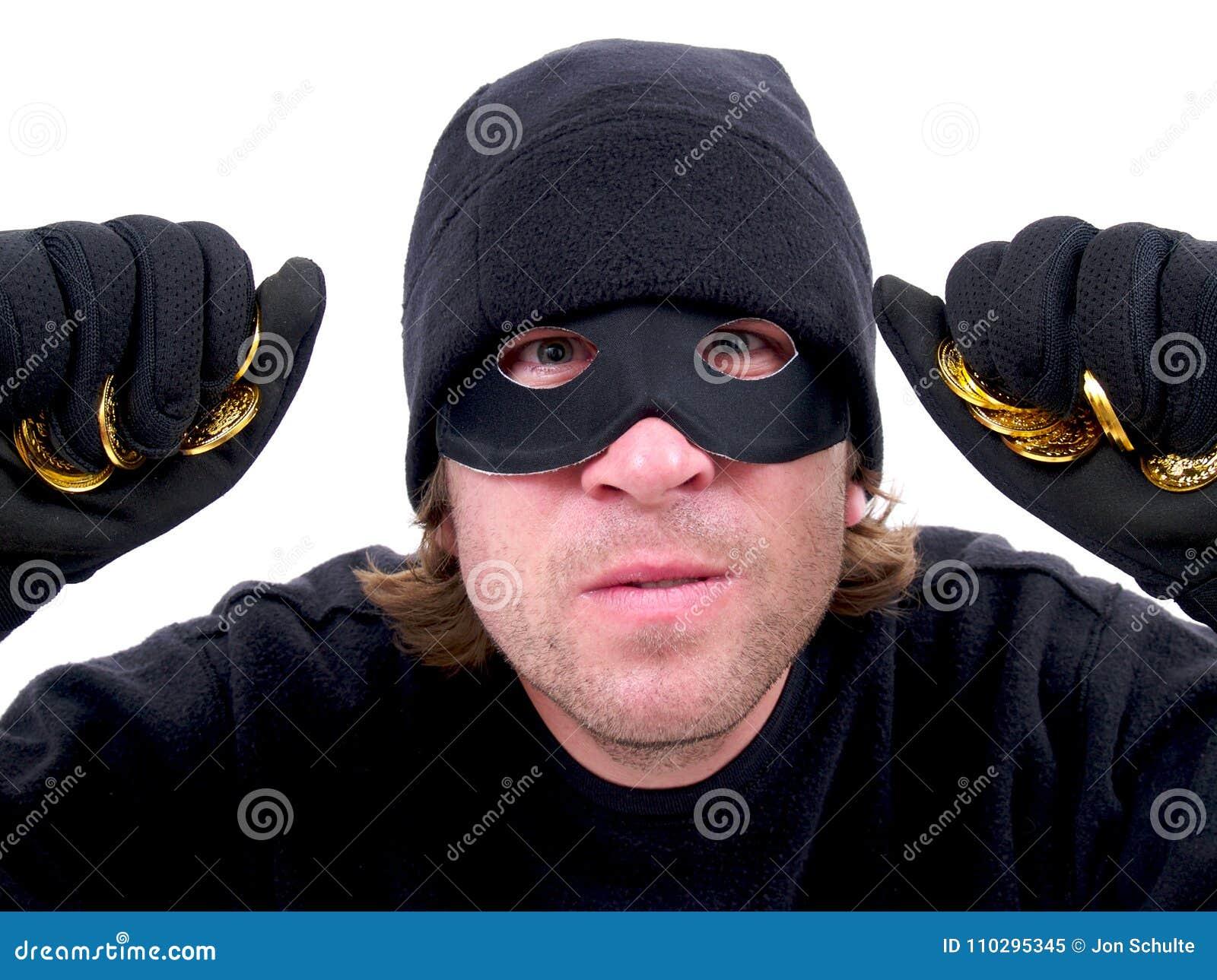 En Maskerad Brottsling Med Guld Fotografering för Bildbyråer - Bild ... 9d1e66dcf3bb0
