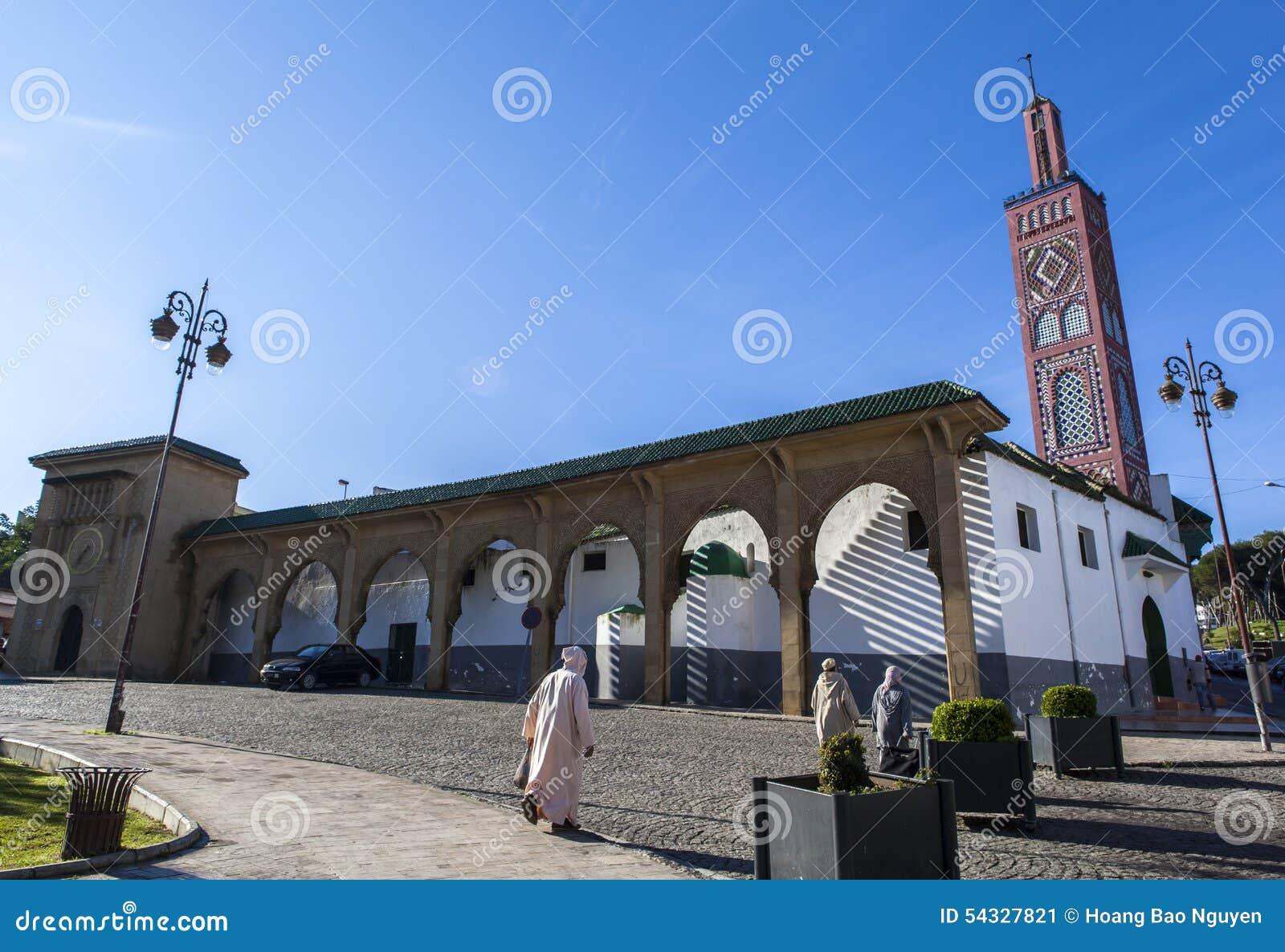 En moské i Tangier, Marocko