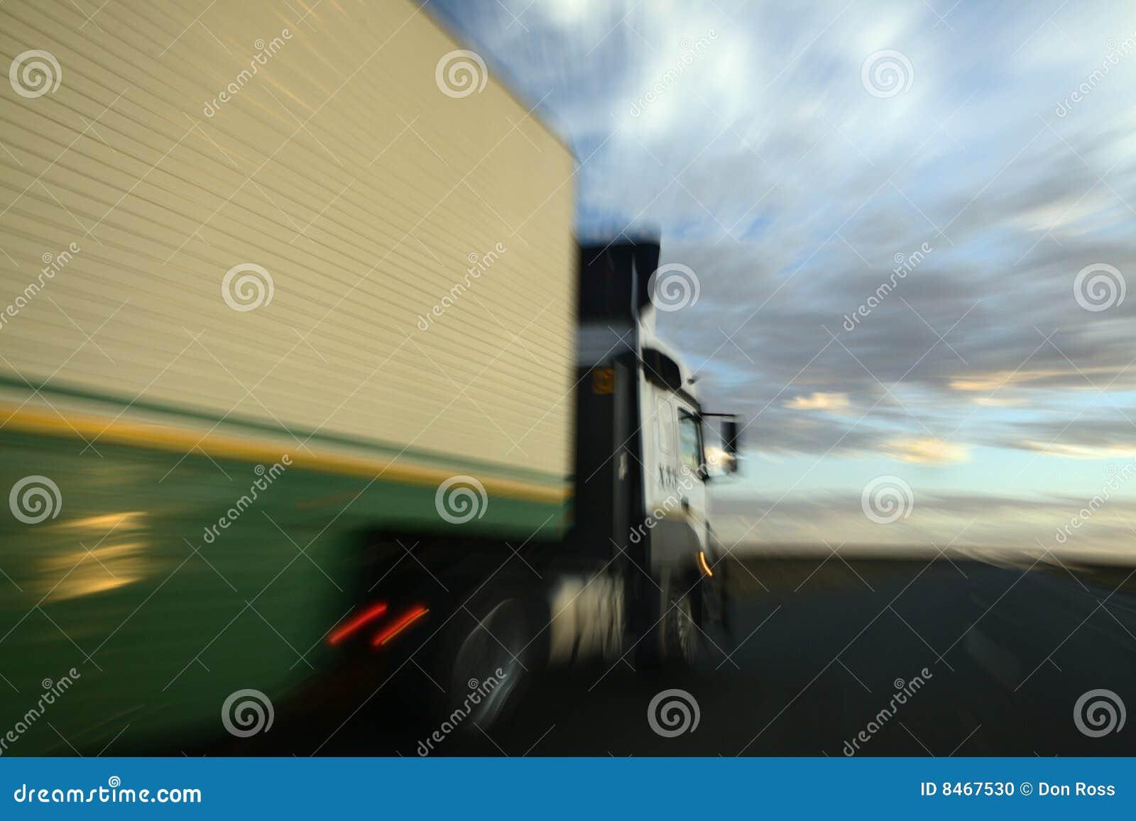 En omkörninglastbil