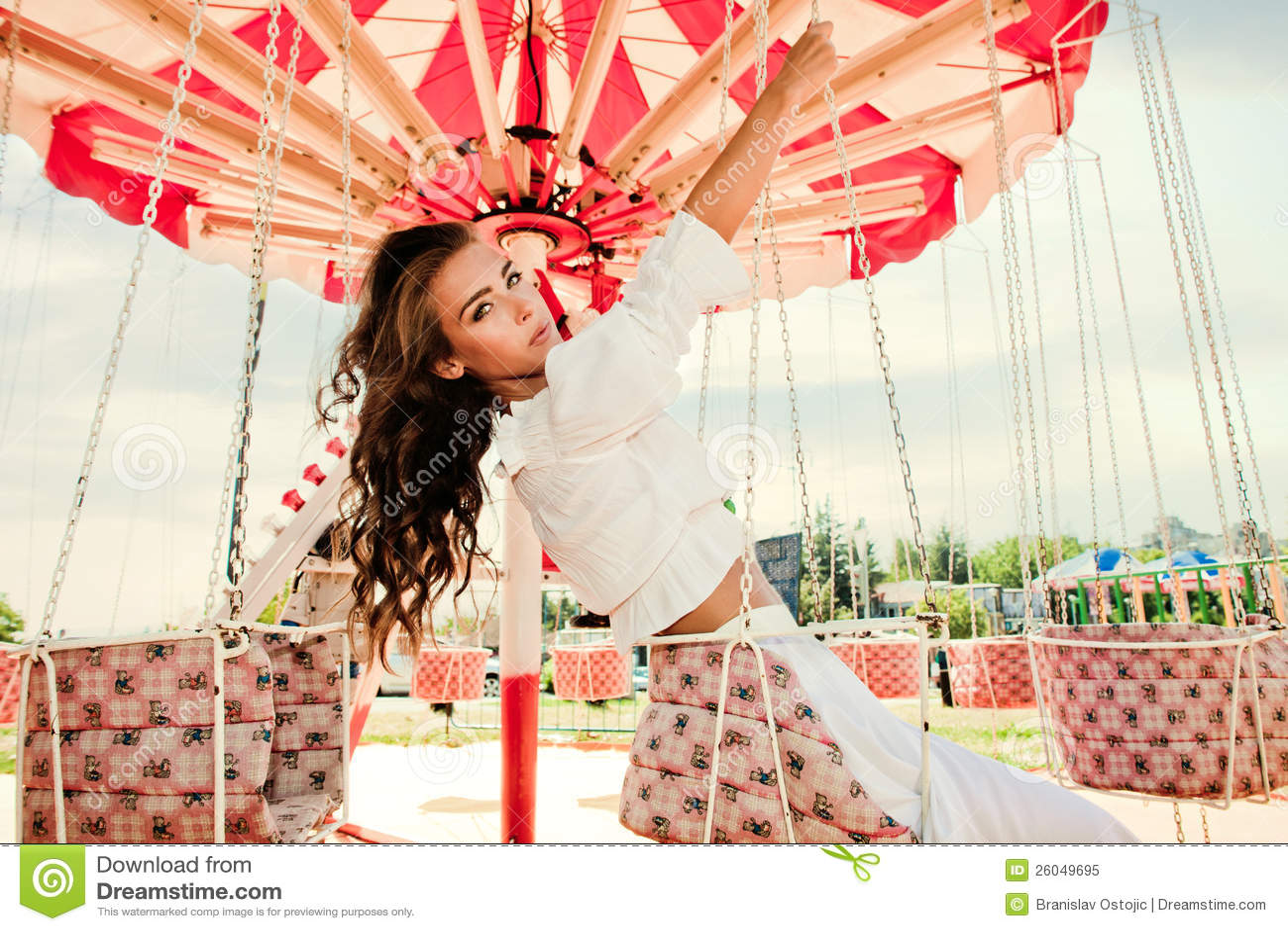 En parque de atracciones