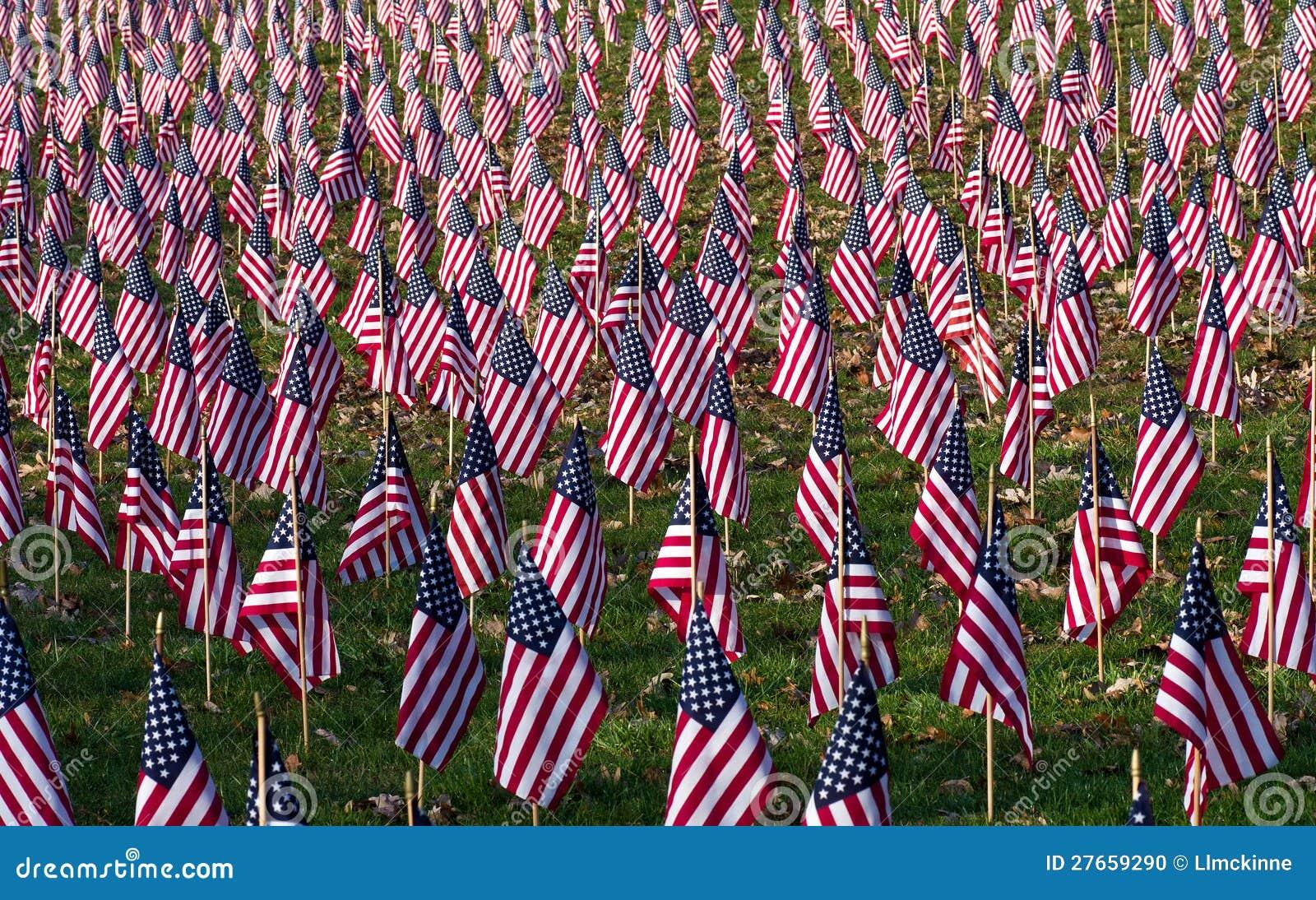 En Profusion av flaggor