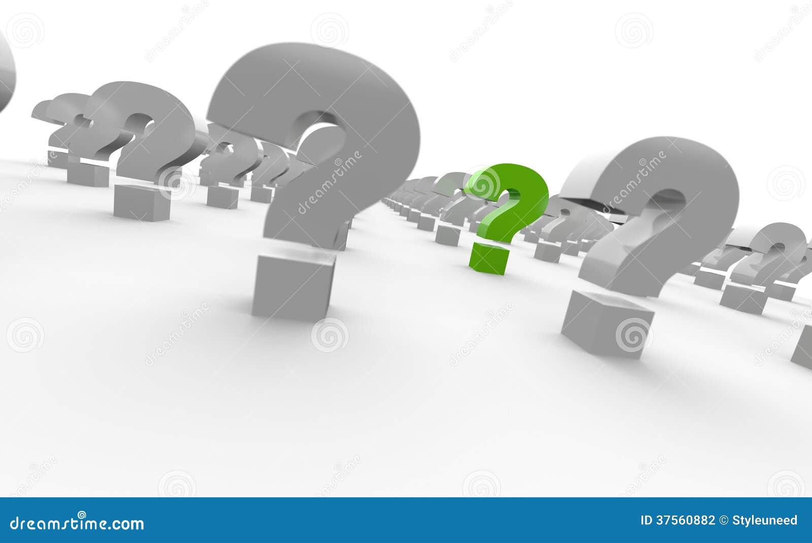 En samling av frågefläckar