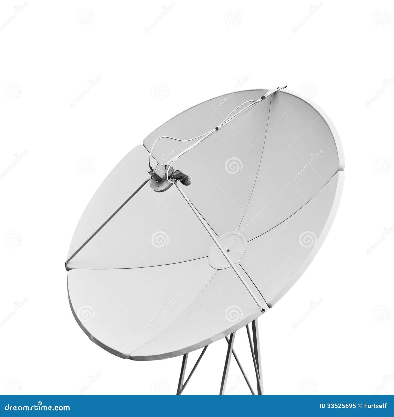 En satellit- maträtt