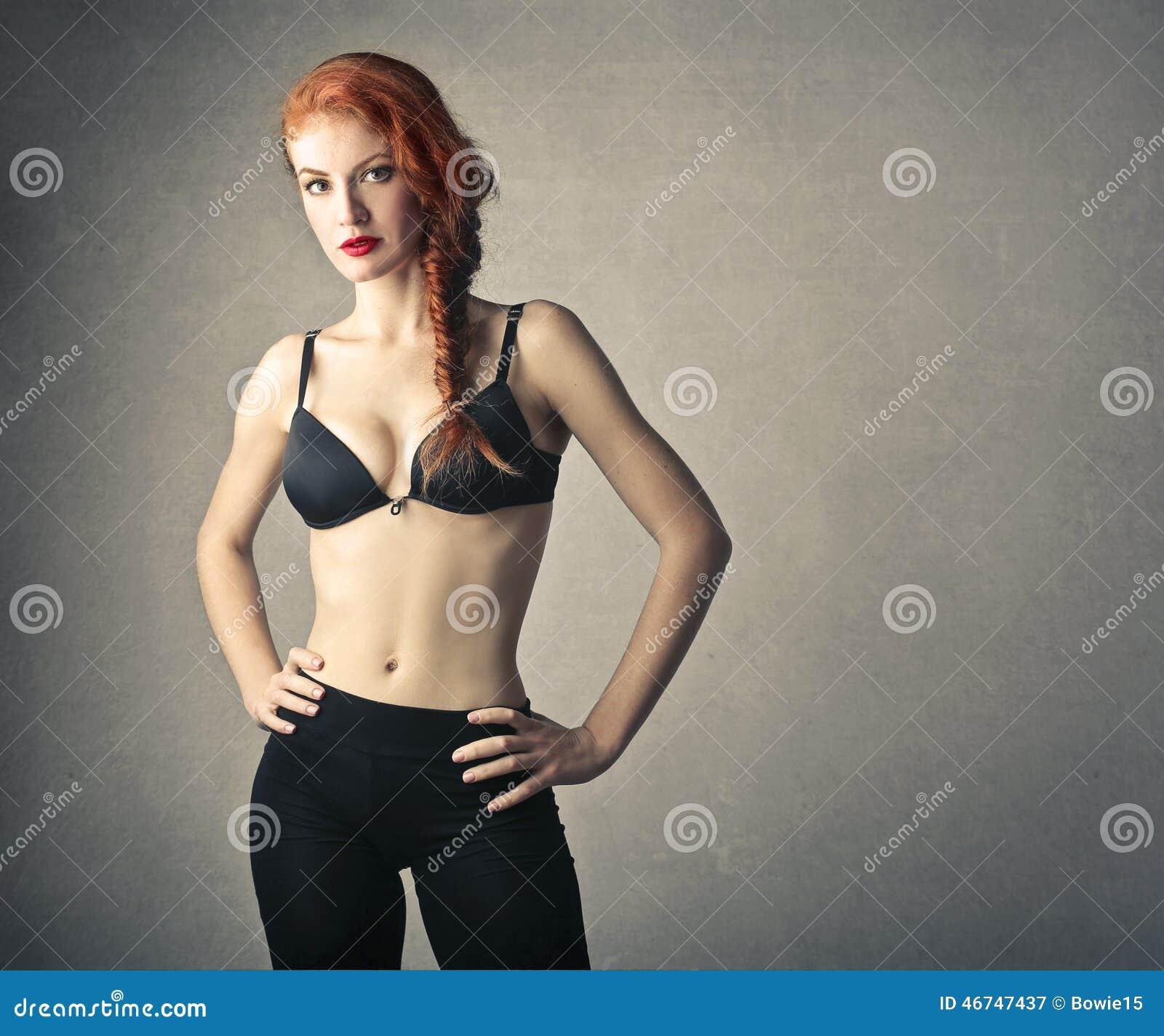 En sportig flicka