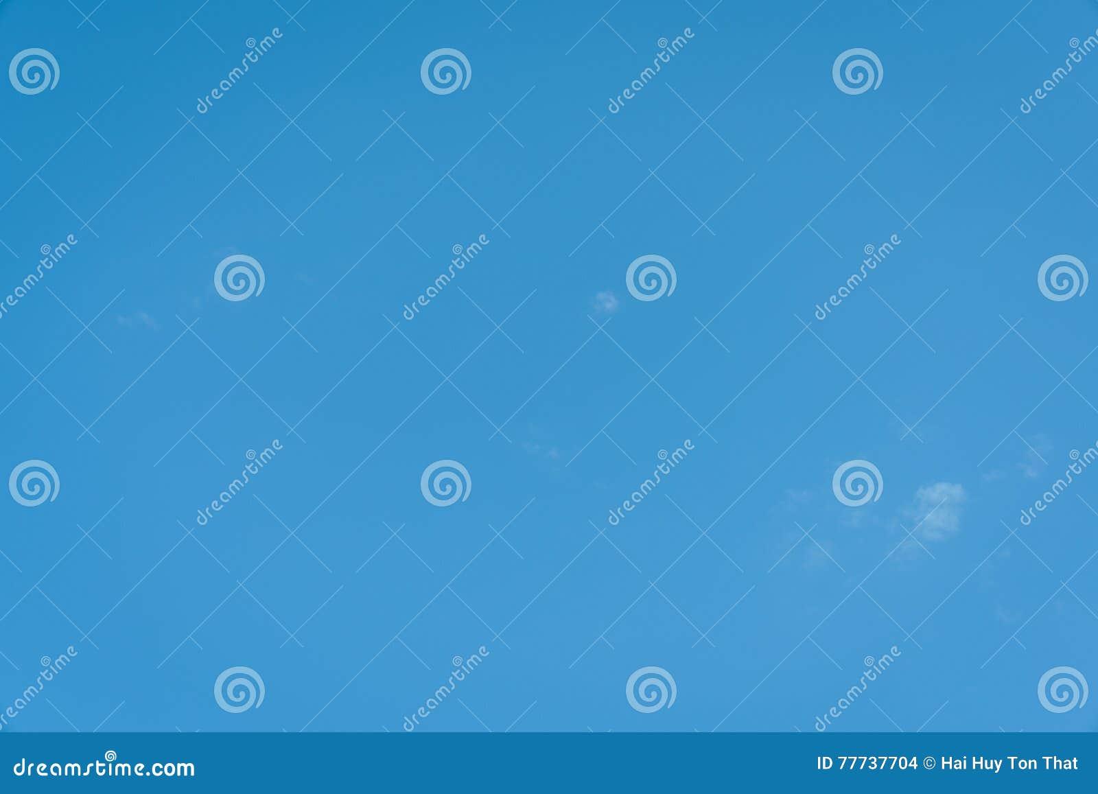 En täckning för blå himmel
