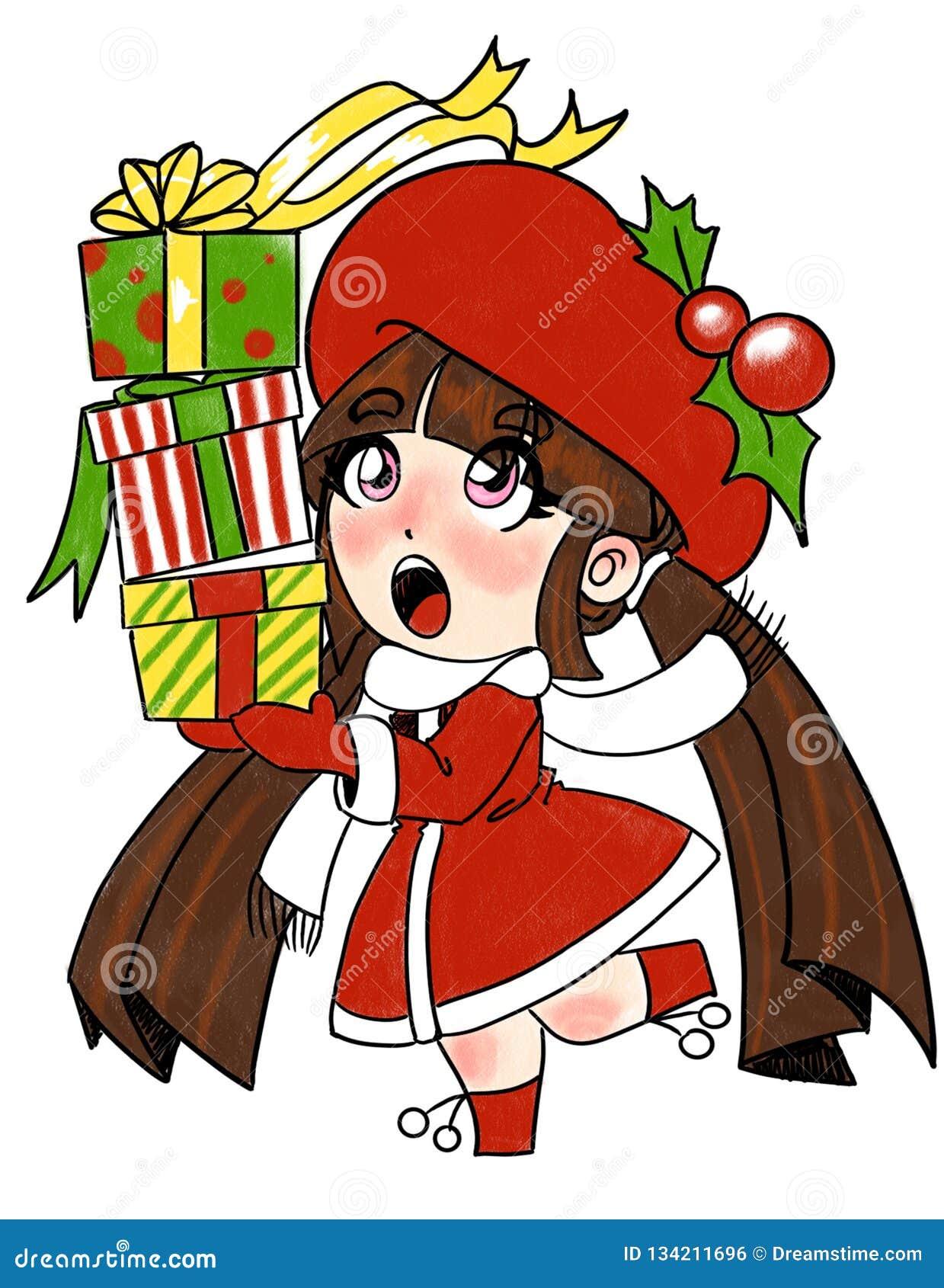 En tanke för jul för alla i färg
