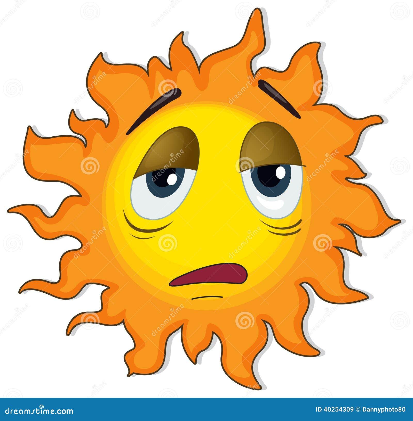 trött av solen