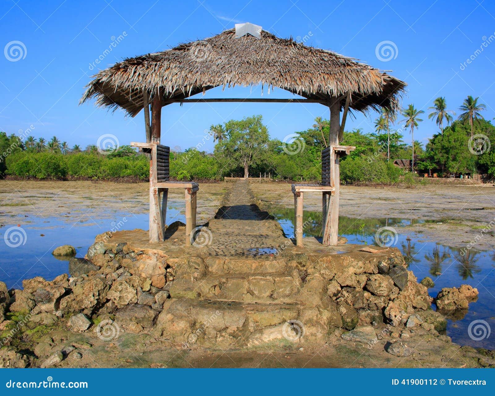 En una isla tropical Filipinas