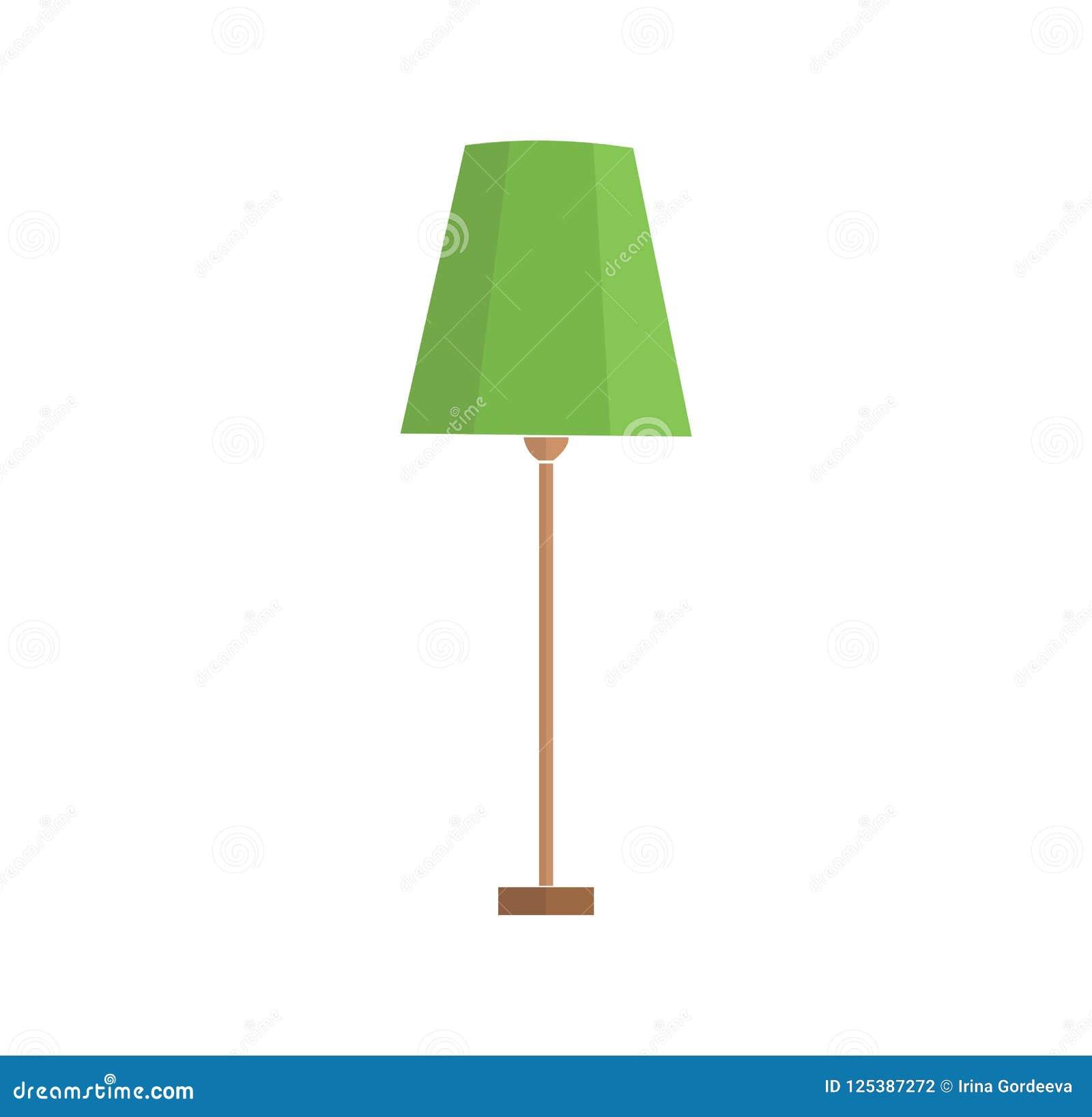En uppsättning av elektriska lampor