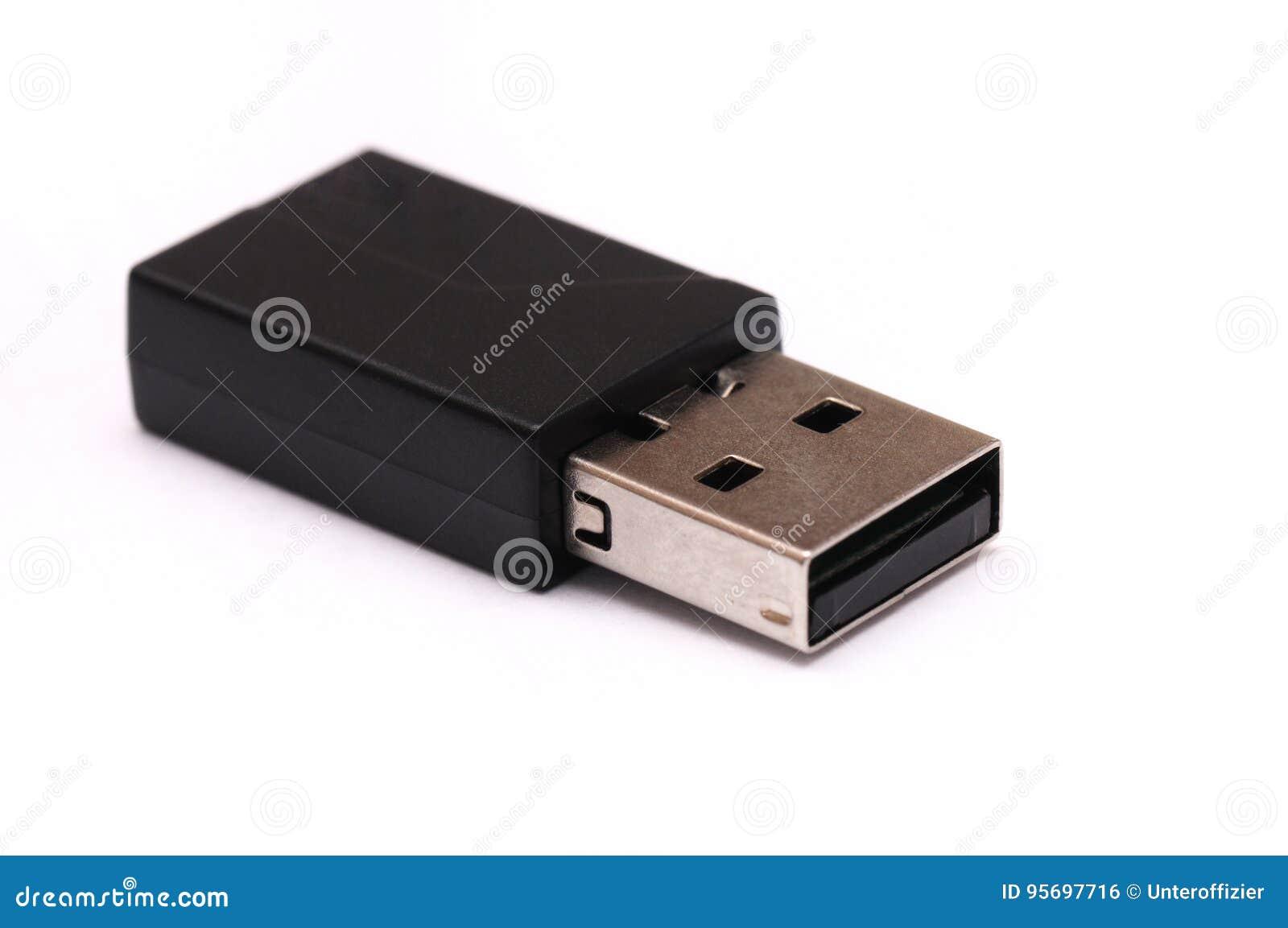 En USB svartdongle