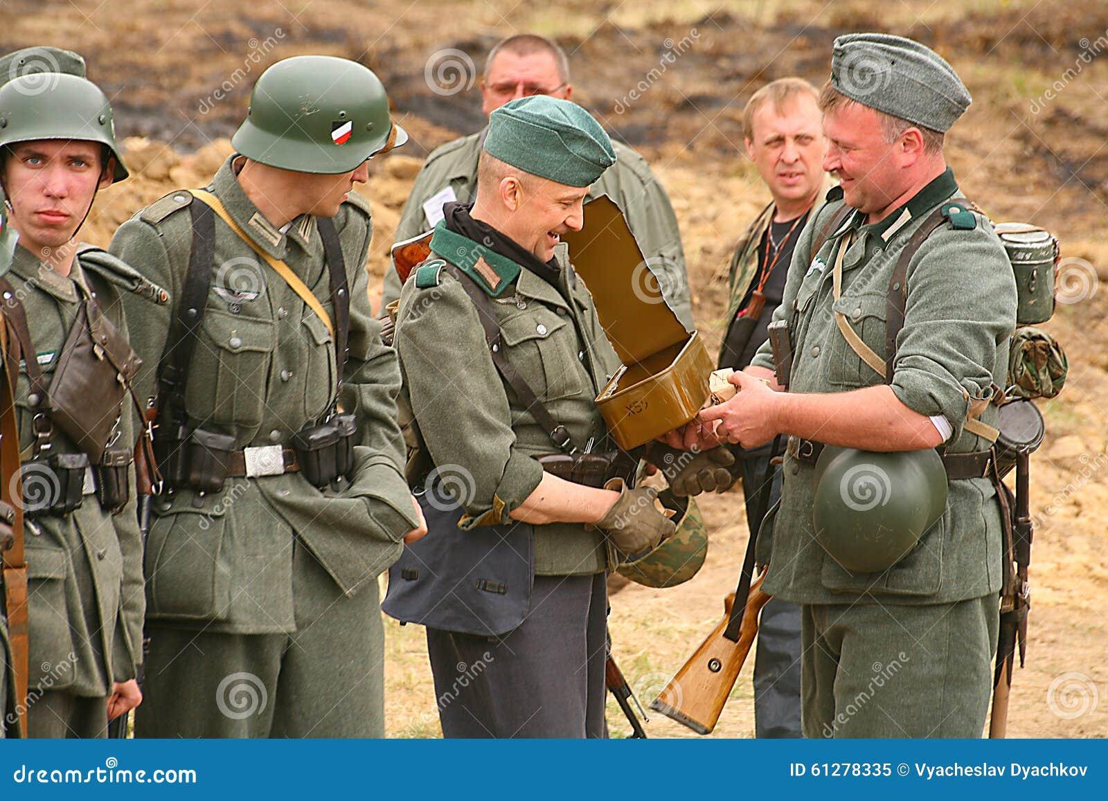 Ben noto Enactors Ri- Militari In Tedesco La Seconda Guerra Mondiale Dell  GX64