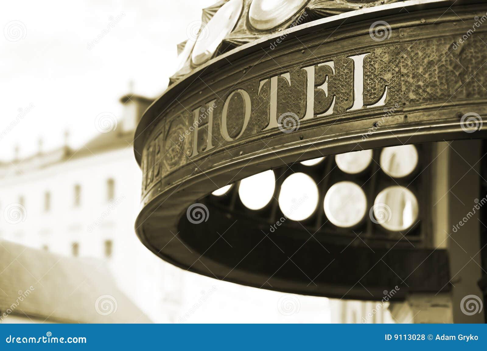 Encabeçamento do hotel
