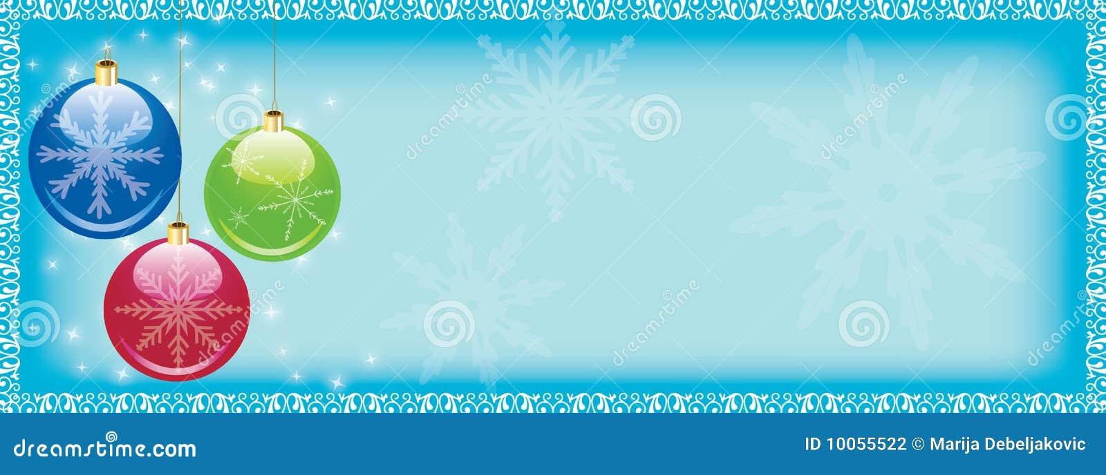 Encabeçamento do Web do Natal