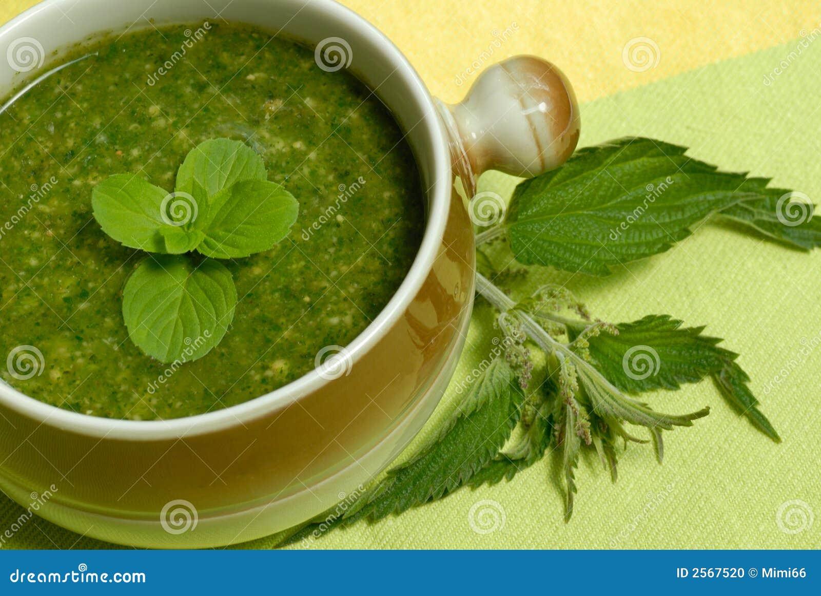 Encadenación de la sopa de la ortiga