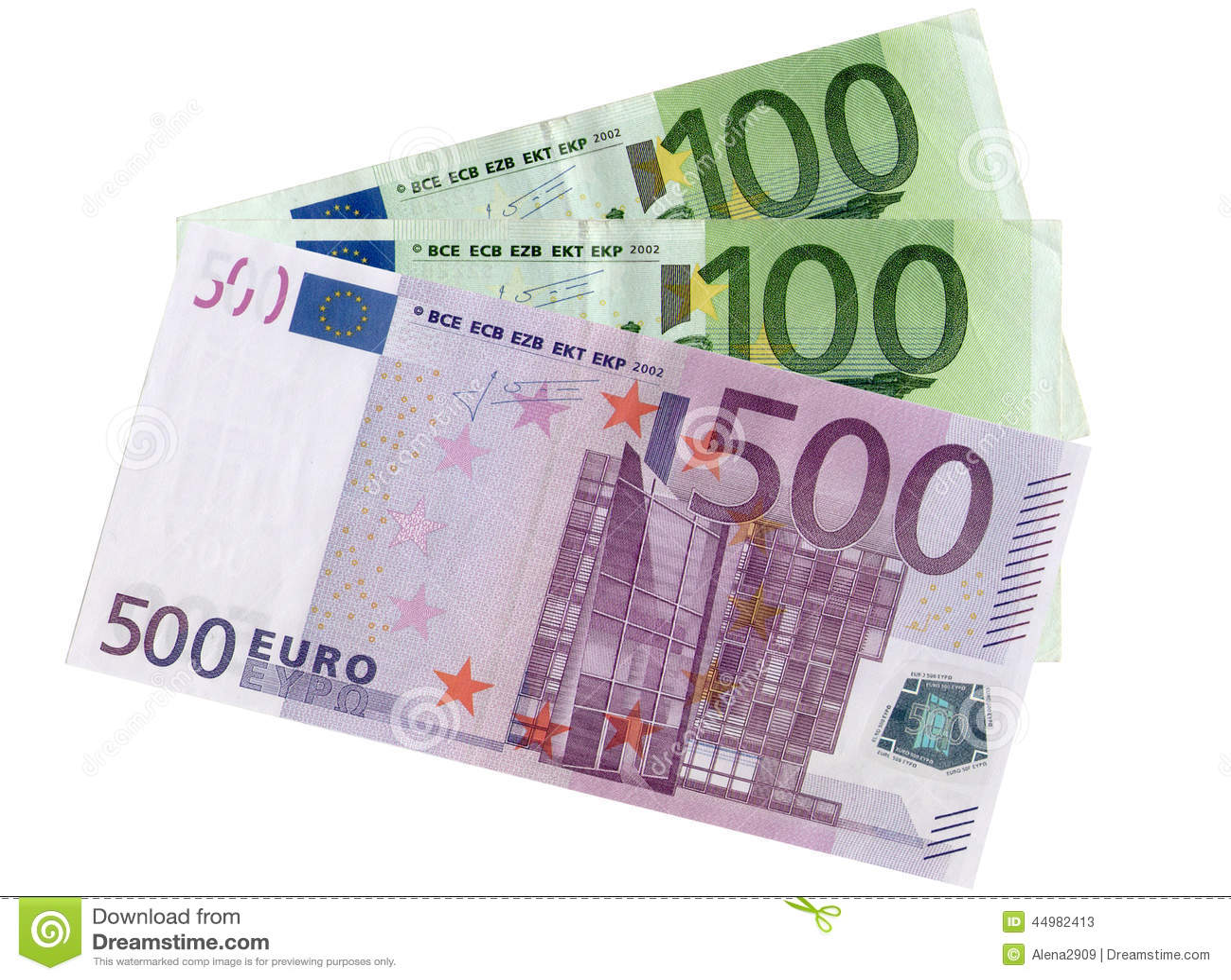 Encaissez l euro corde de note d argent de l orientation cent des euro cinq