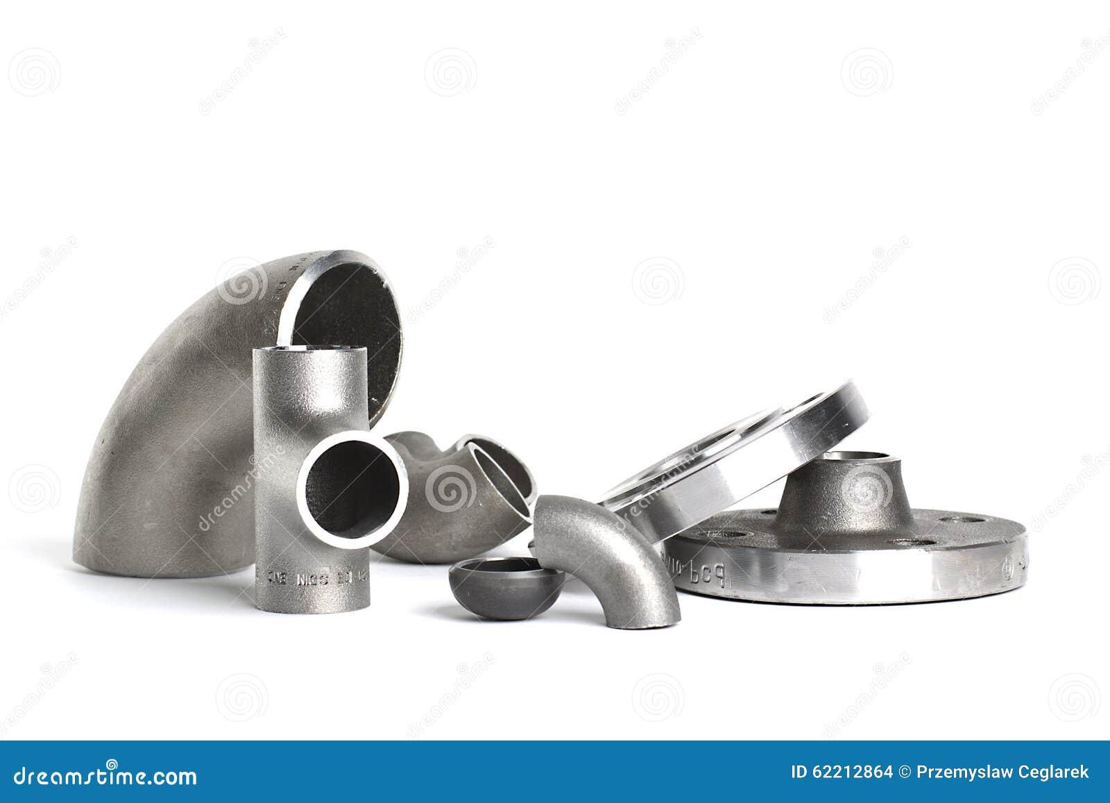 Encaixes e conectores da soldadura de aço Cotovelo, flanges e T