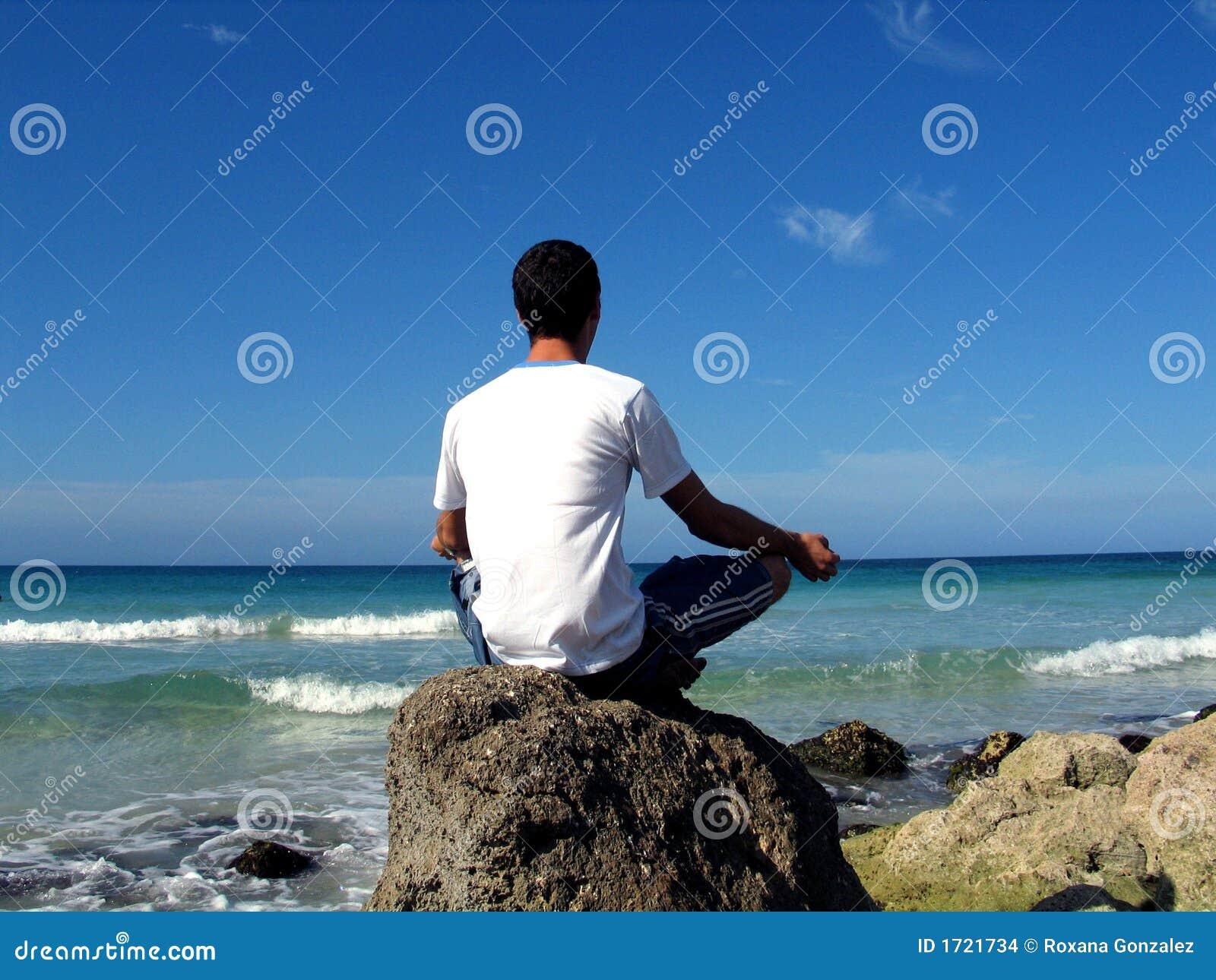 Encalhe a meditação
