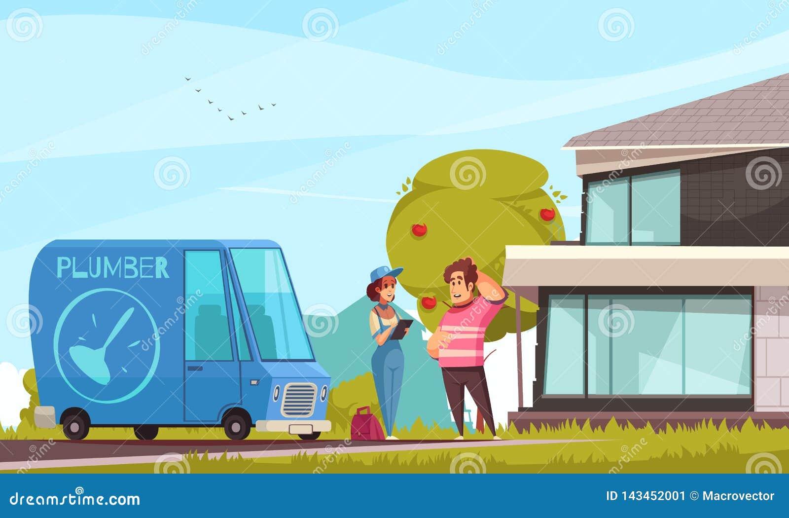 Encanador Arriving Outdoor Illustration