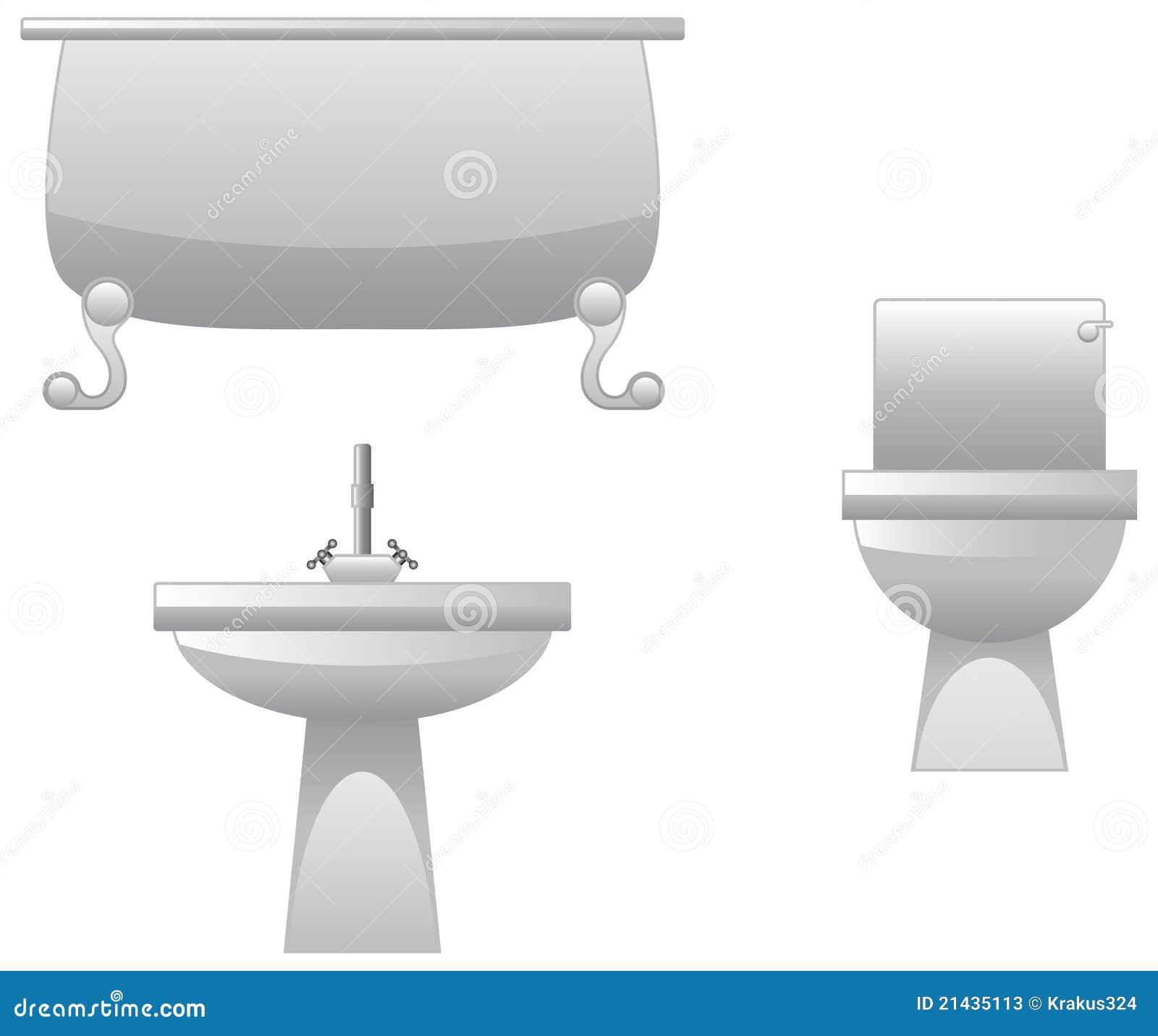 Encanamento Para O Banheiro Fotos de Stock  Imagem 21435113 -> Encanamento De Banheiro Com Banheira