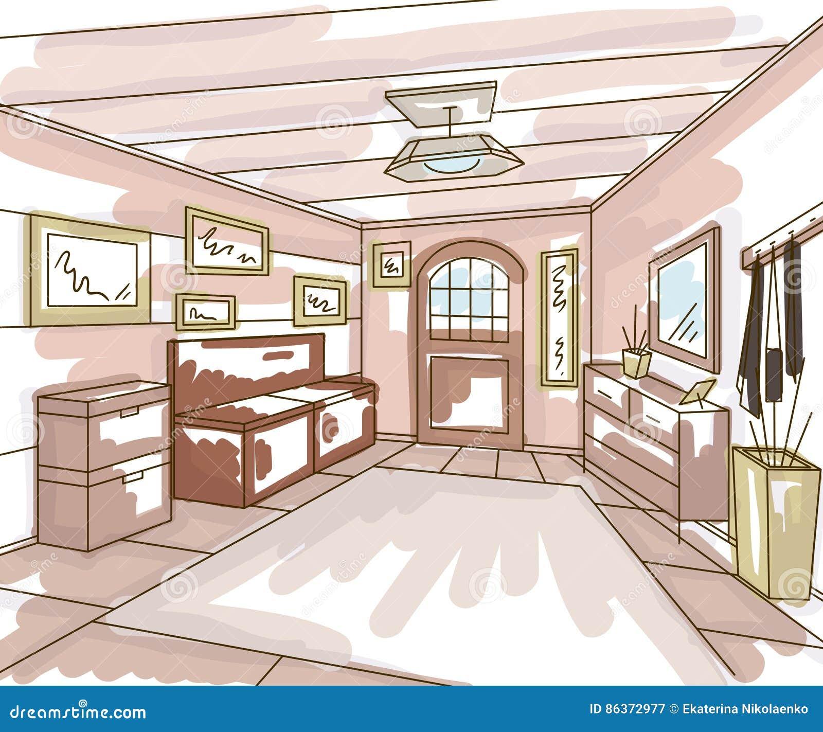 Vistoso Muebles Banco De Almacenamiento En El Interior ...