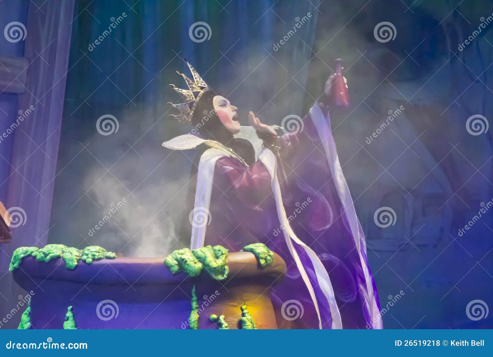 Encanto mau da carcaça da bruxa