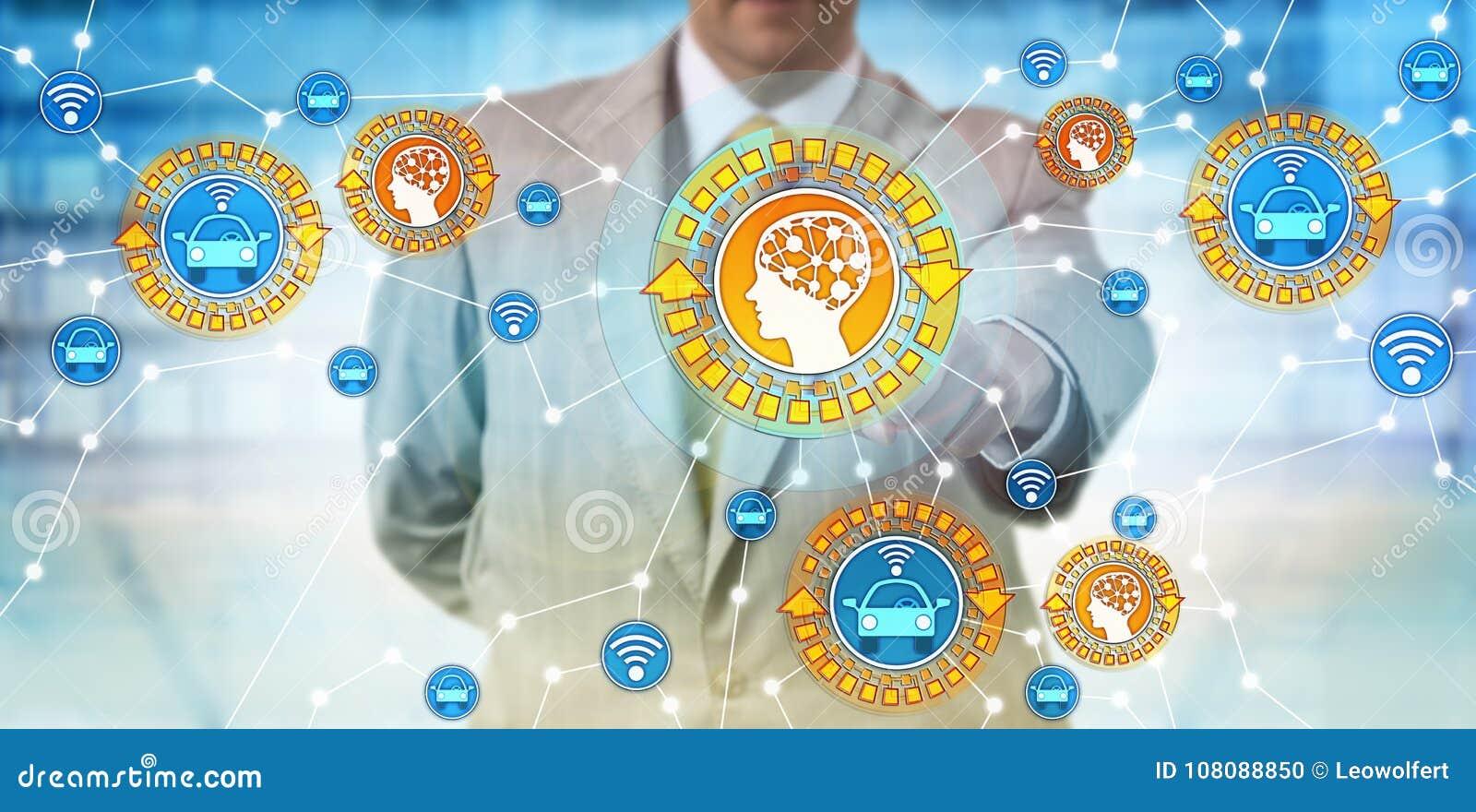 Encargado Connecting Autonomous Car y AI de la industria
