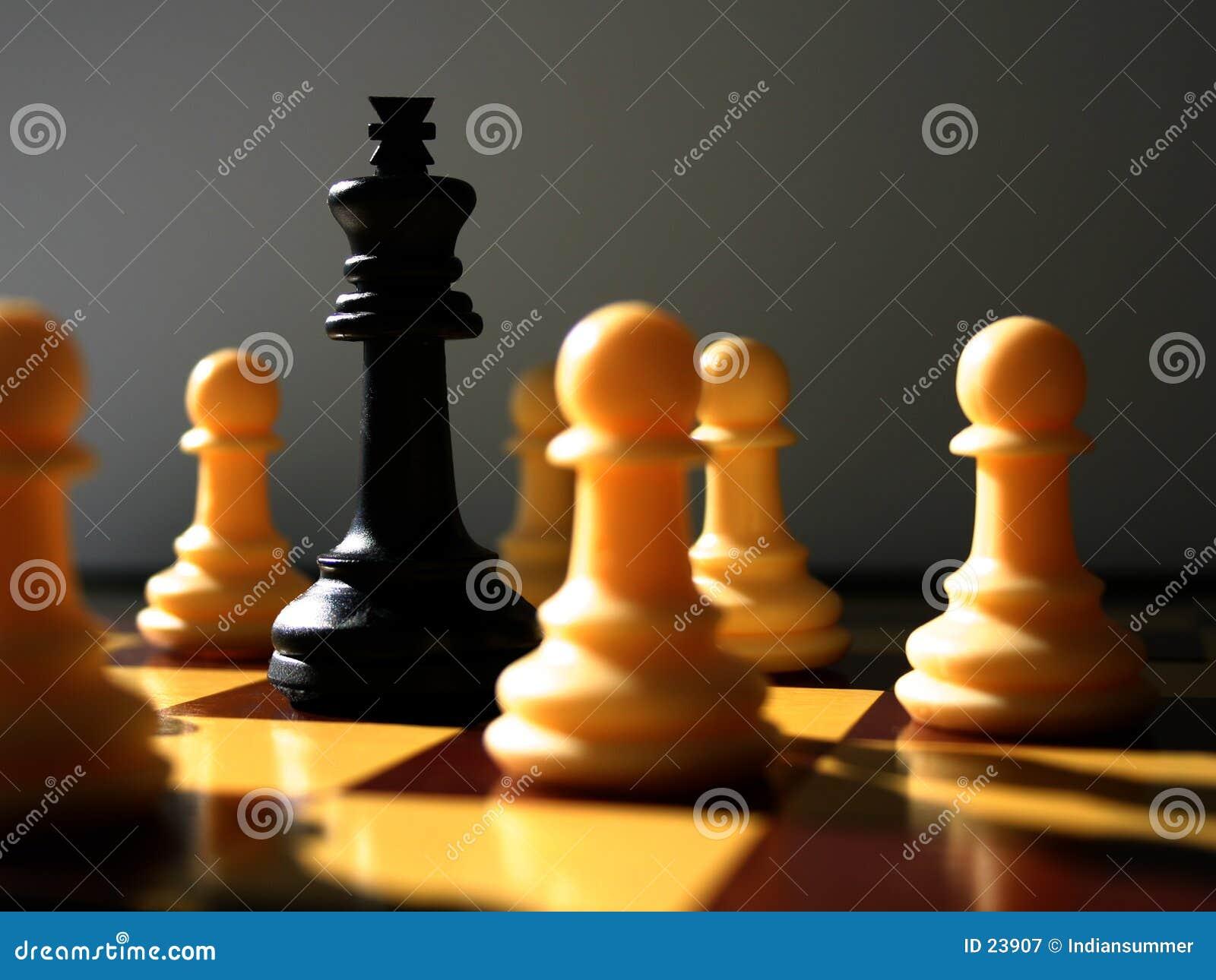 Encenação da xadrez