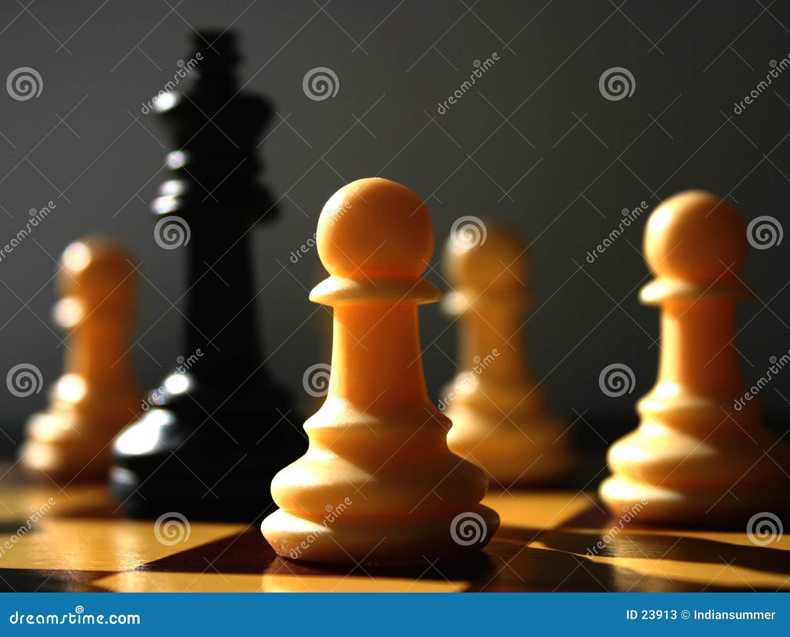 Encenação II da xadrez