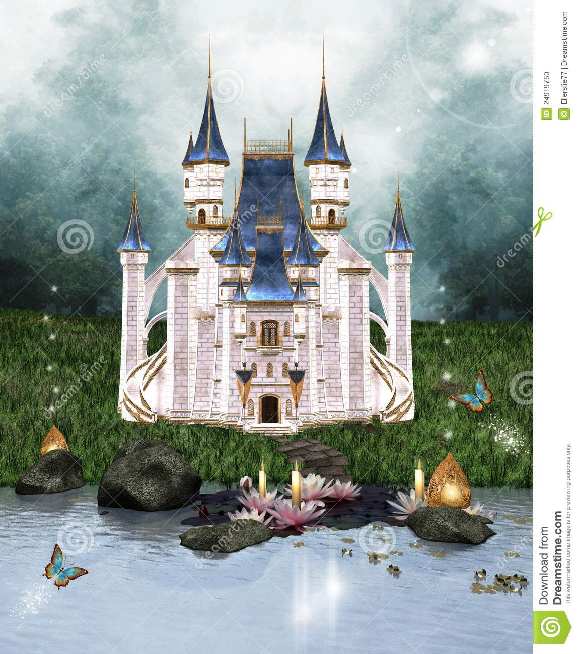 the enchanted castle The enchanted castle of the title is a country estate in the west country seen through the eyes of three children, gerald, james and kathleen, who discover it while.