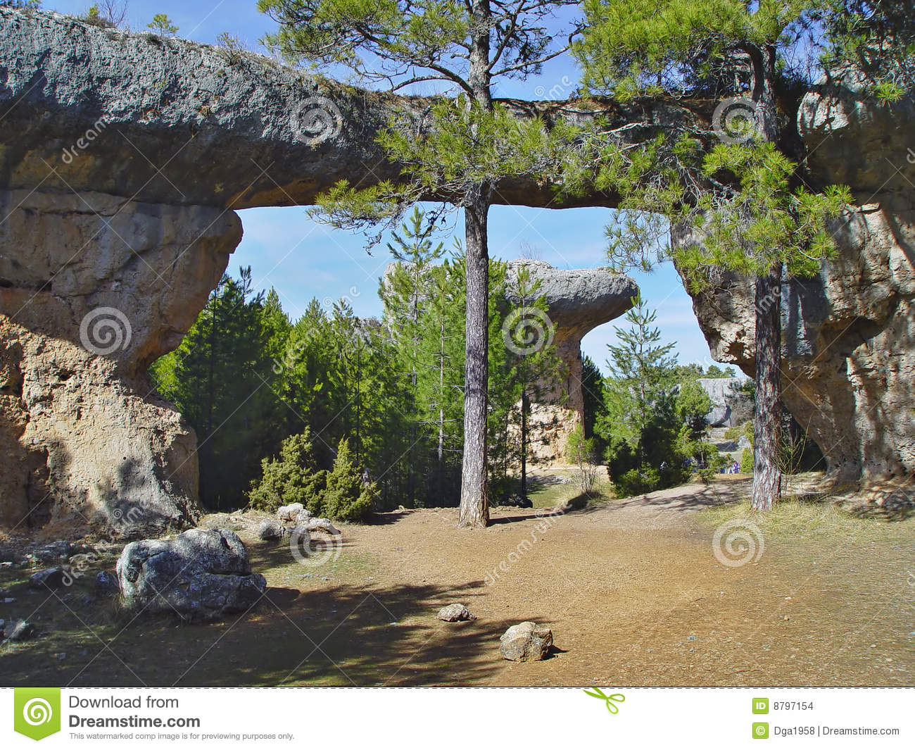 Download Enchanted City Of Cuenca, Spain Stock Photo - Image of archery, landscape: 8797154