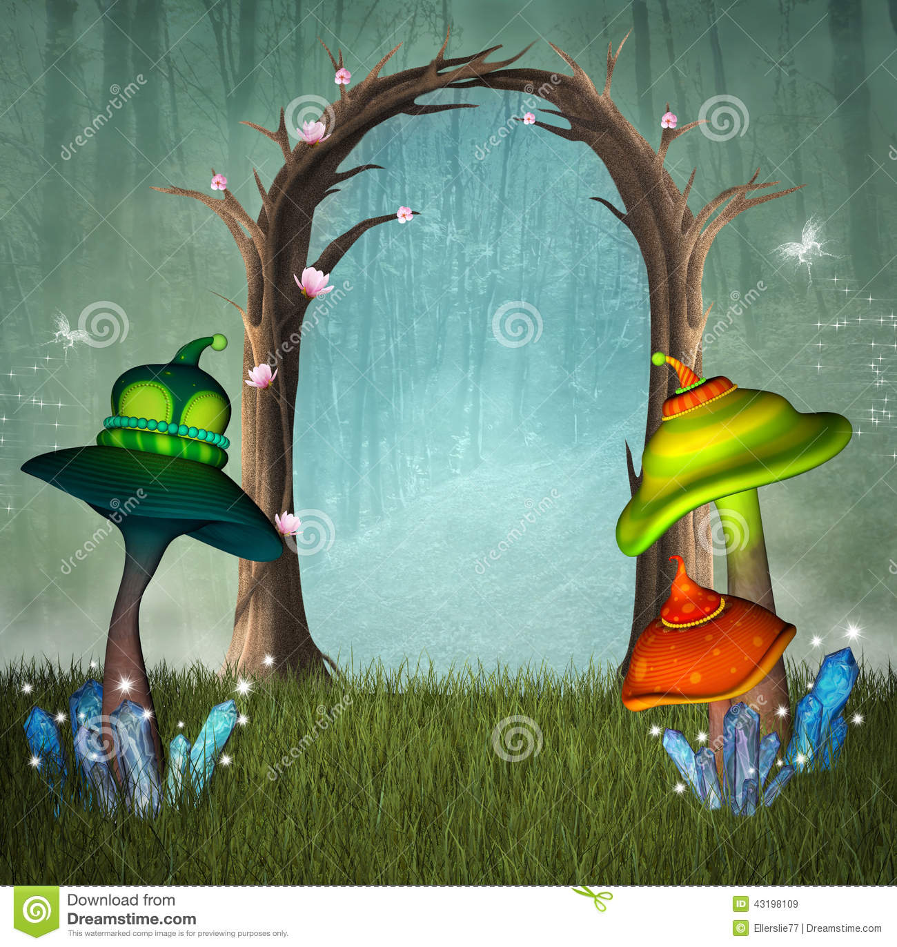 Enchanted forest passage