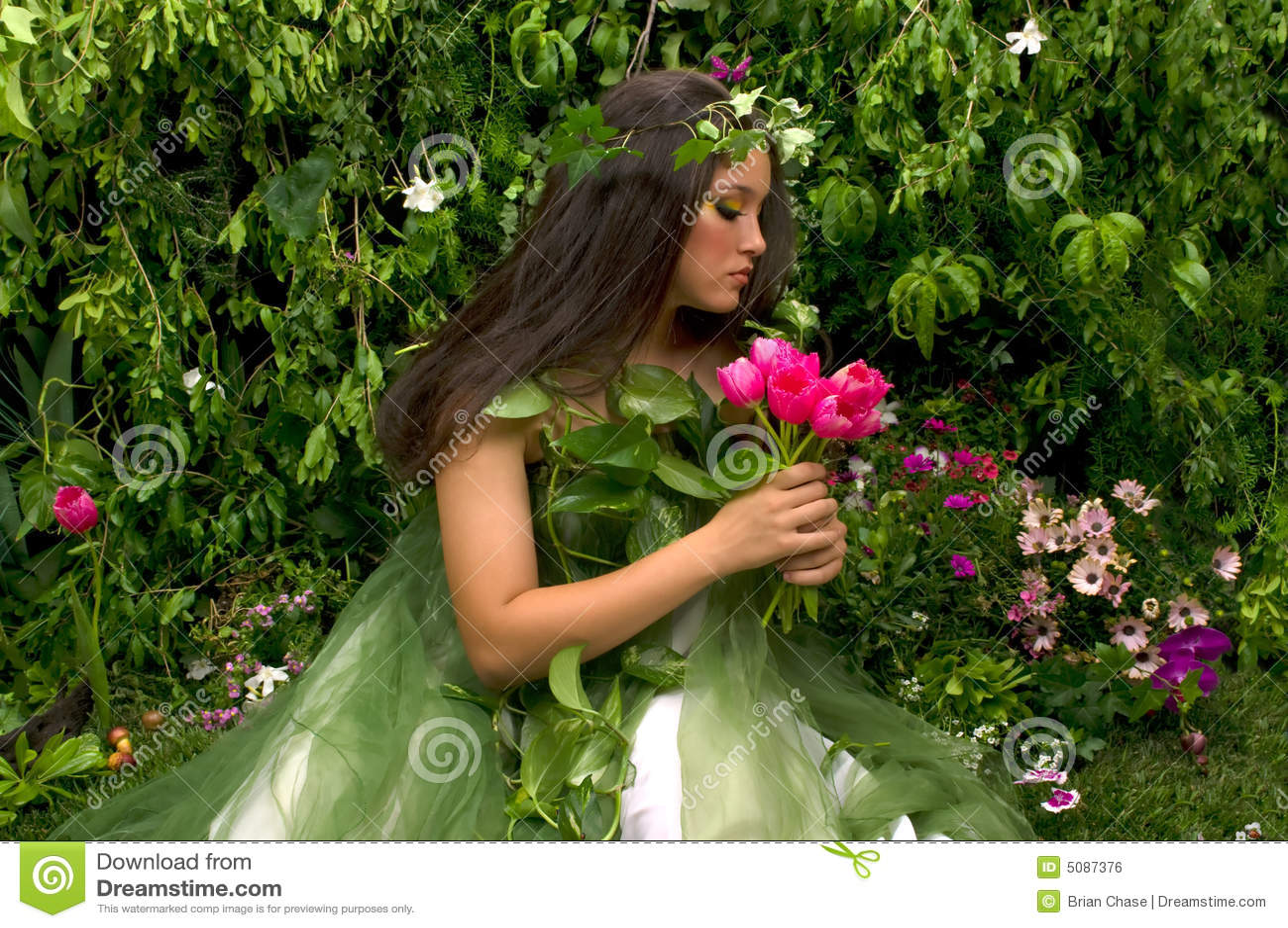 Enchanted Garden: Enchanted Garden Royalty Free Stock Image