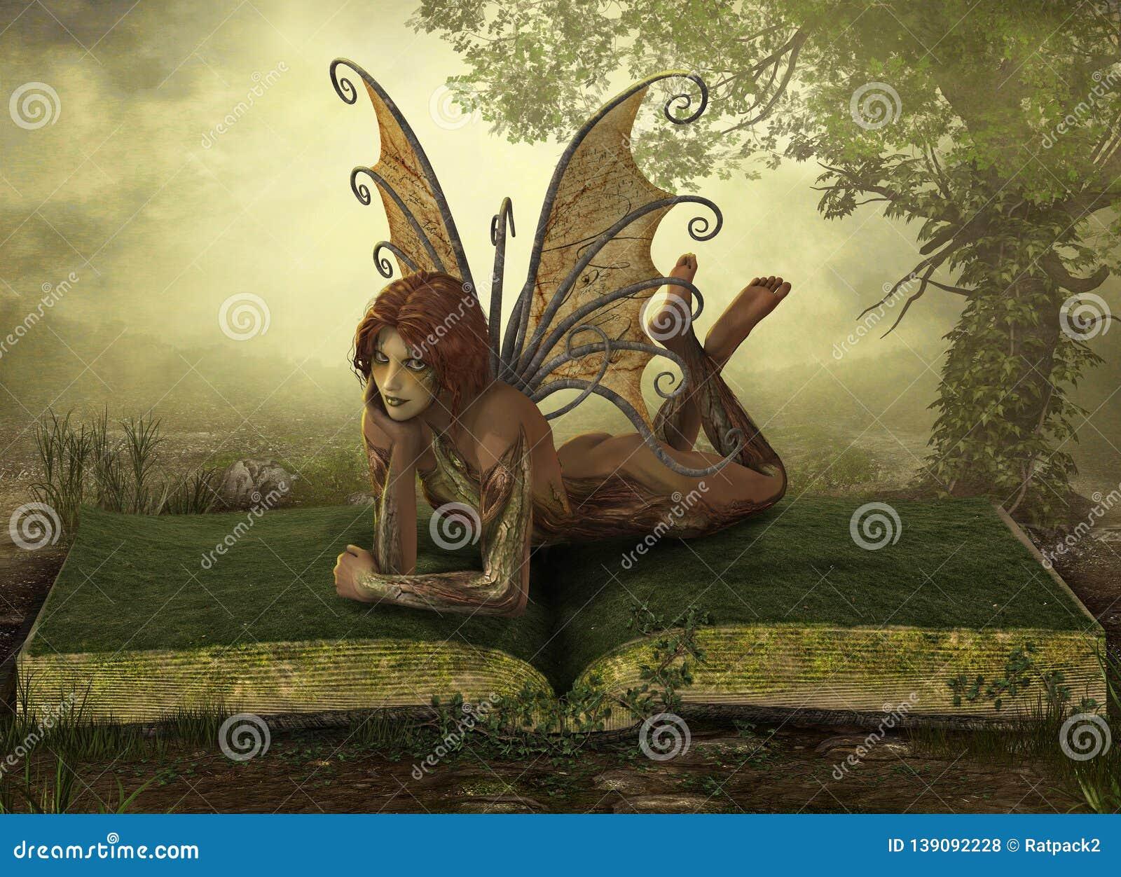 Enchanting Elemental Earth Fairy Fantasy