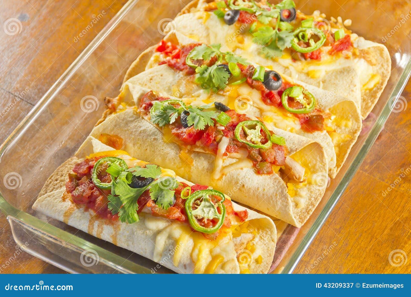 Enchilada-Kasserolle