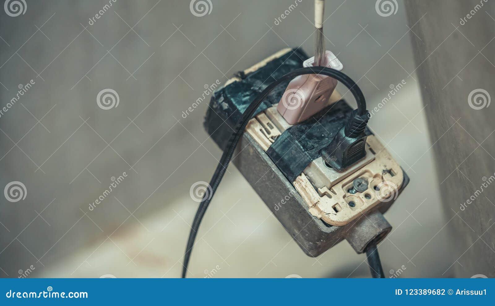 Enchufes eléctricos portátiles del equipo