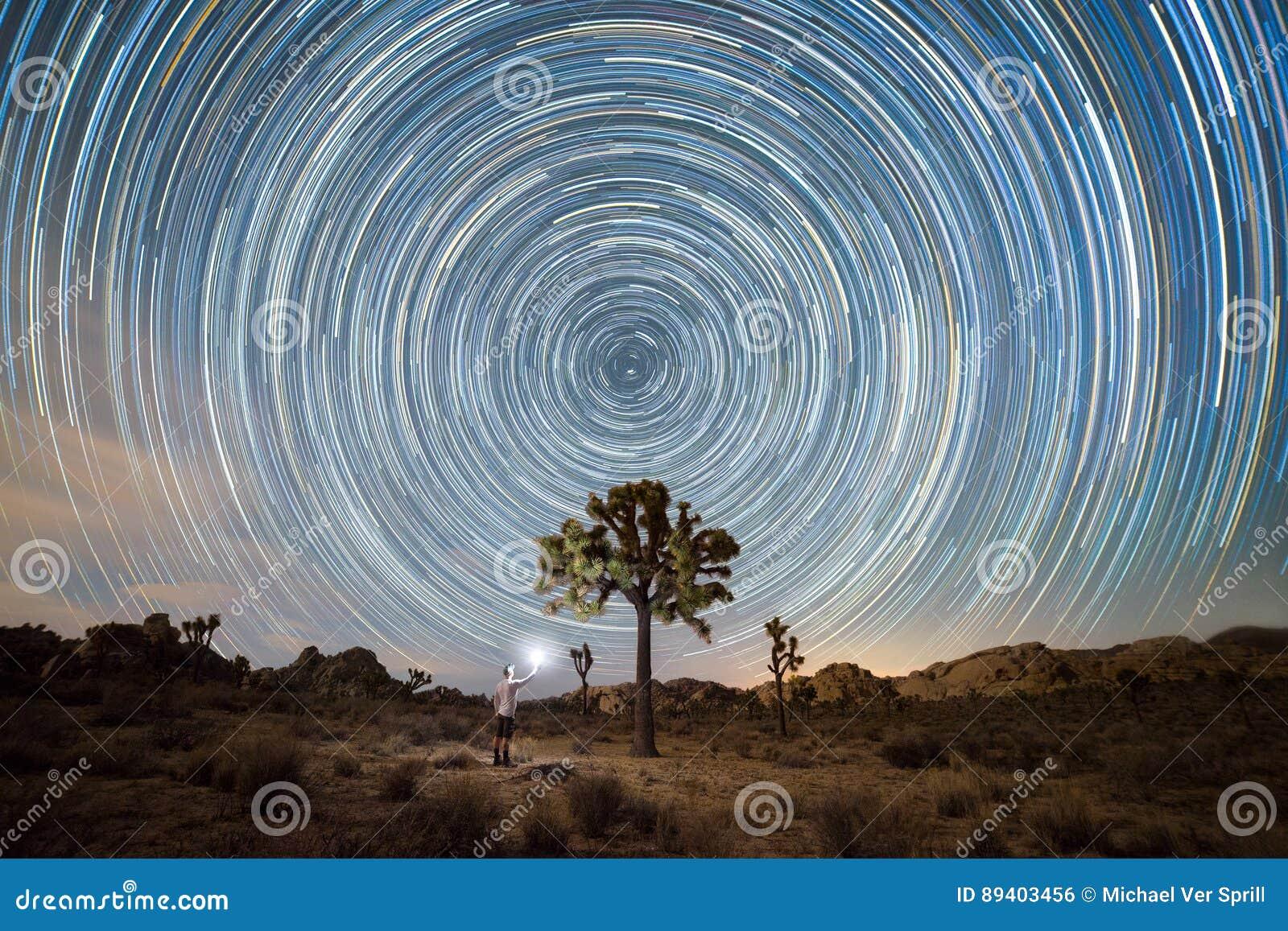 Encontrando Joshua Tree sob fugas da estrela