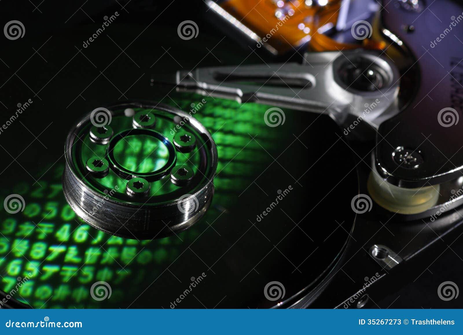 Encrypted Hard Drive Stock Photos Image 35267273