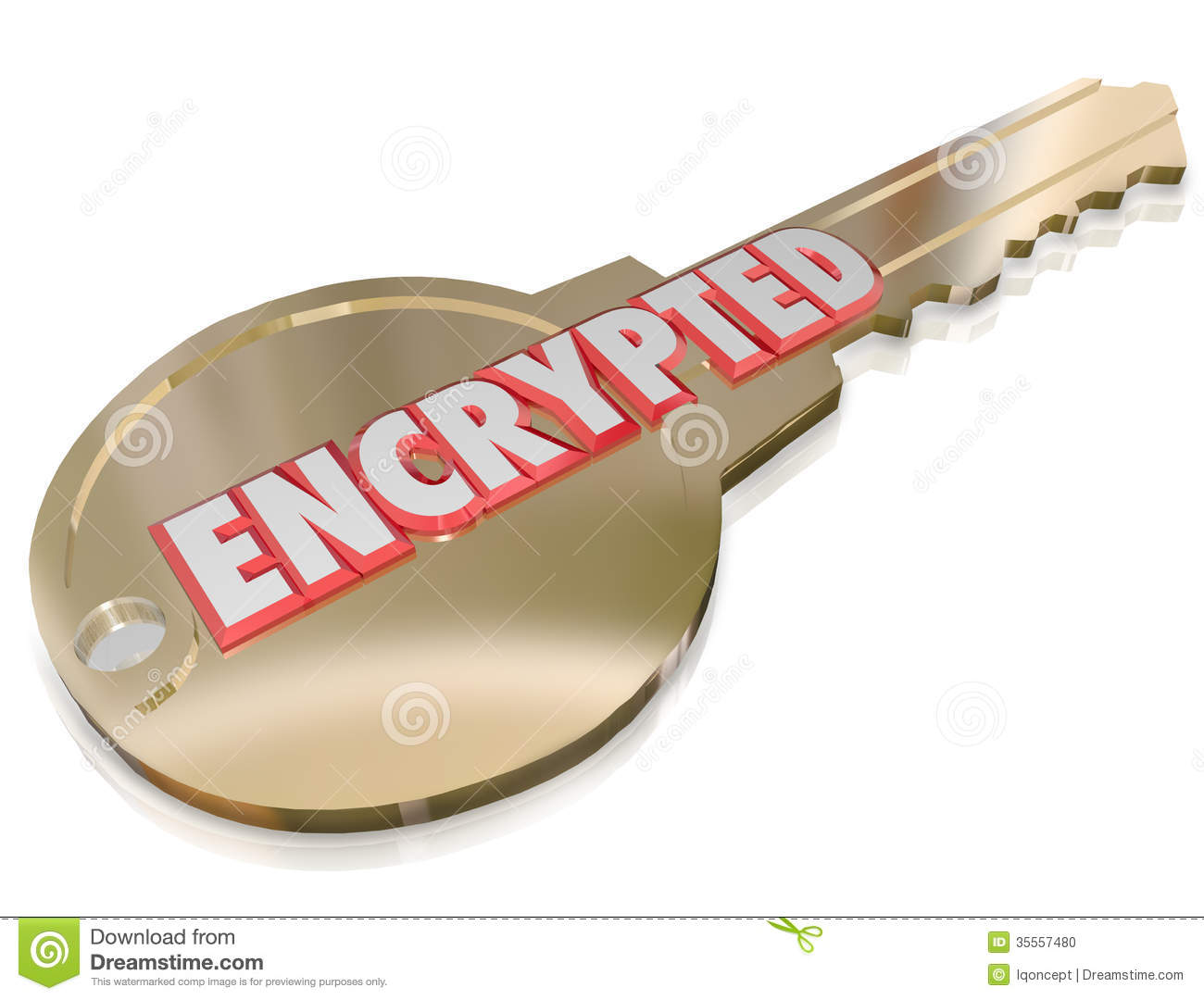 encrypted data clip art